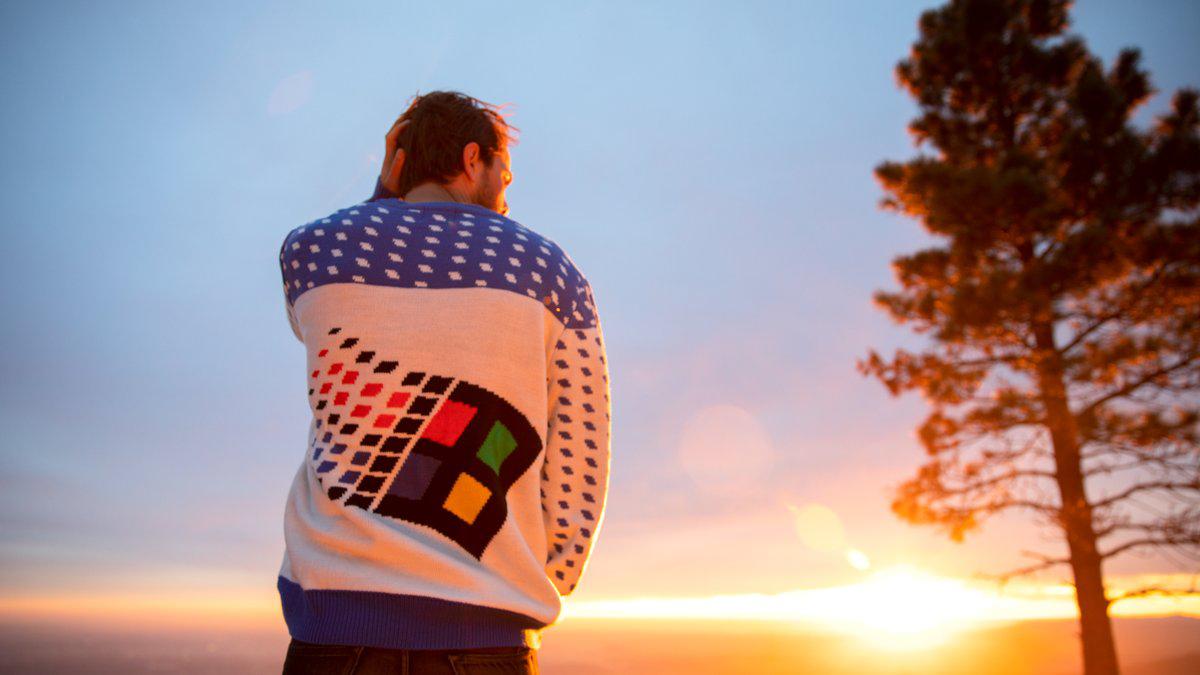 Windows Sweater