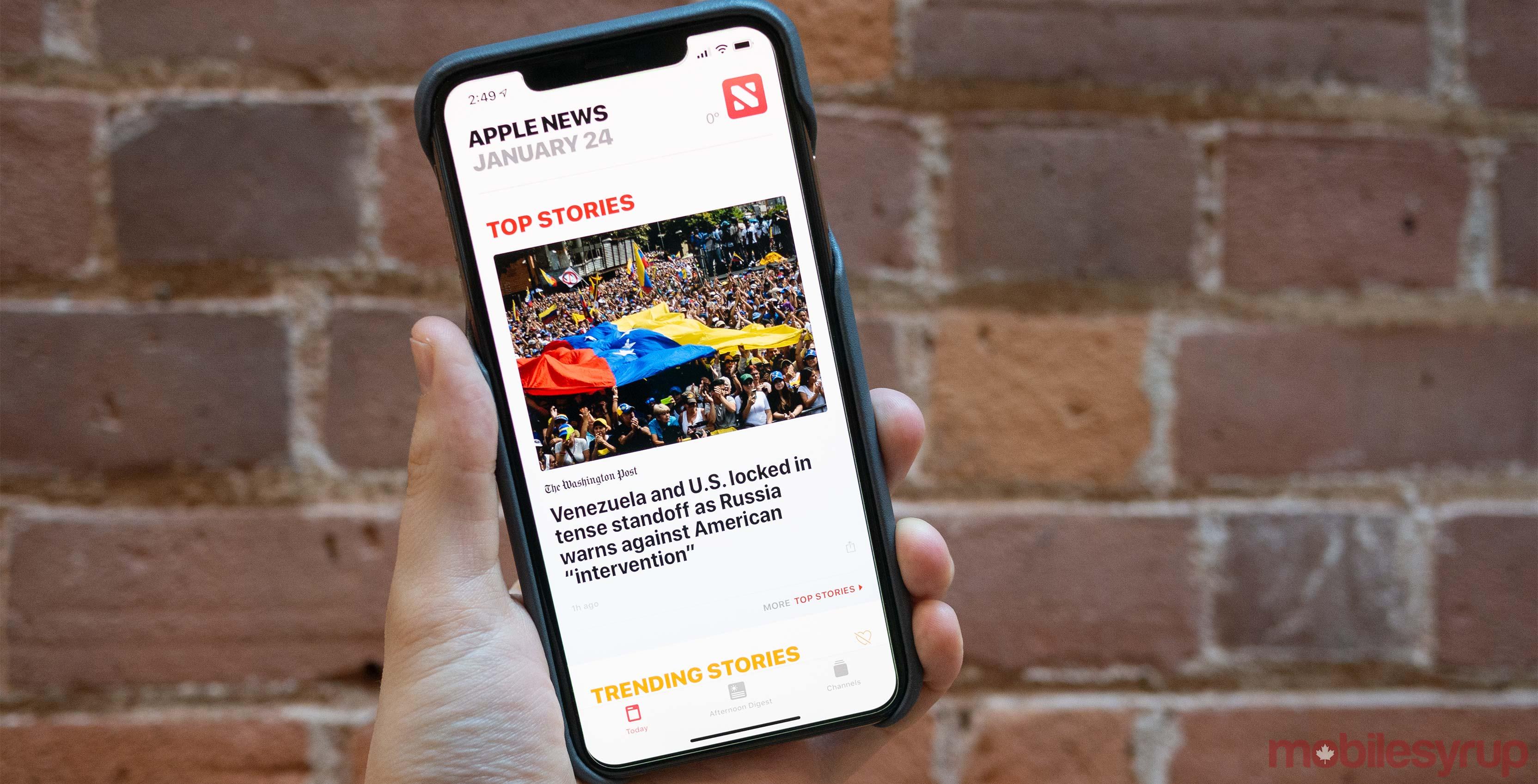 Apple News Canada