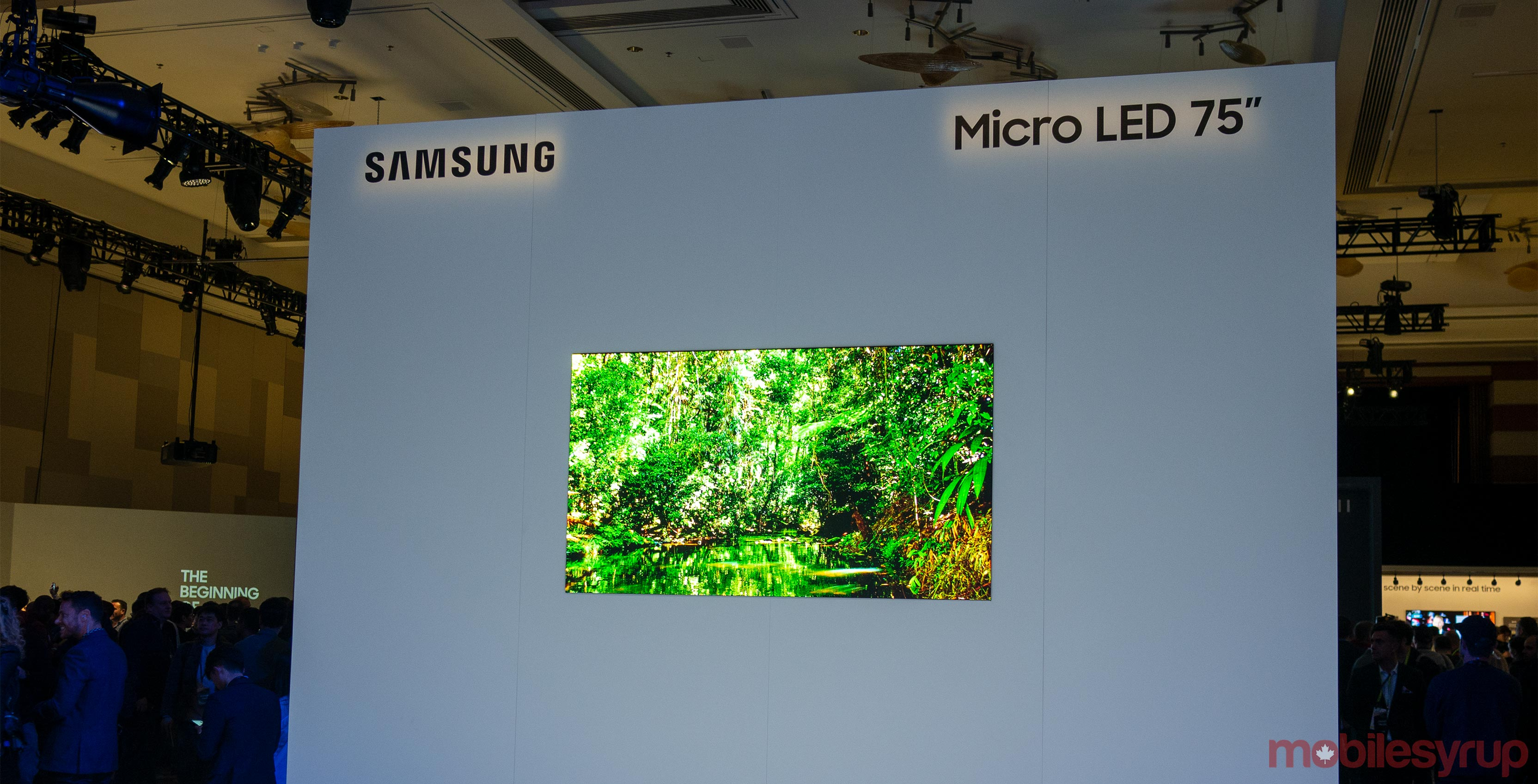Samsung MicroLED 75-inch TV