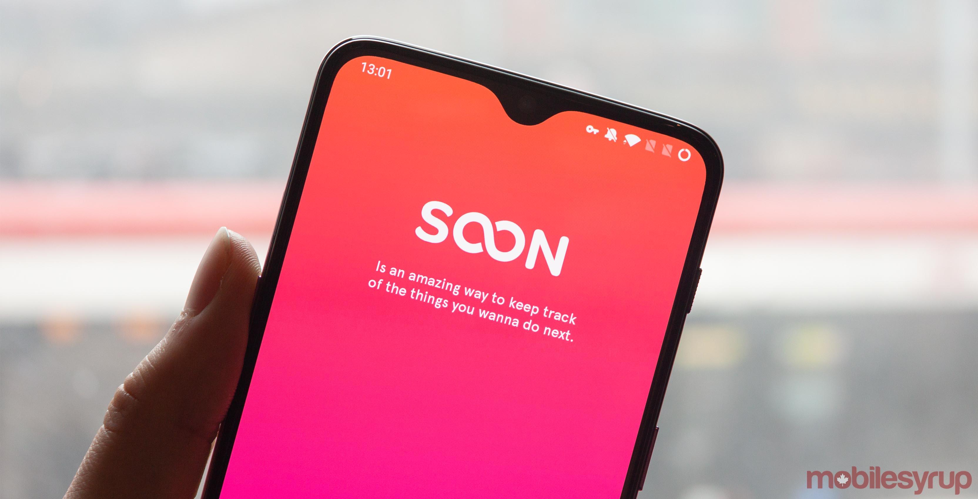 Soon app