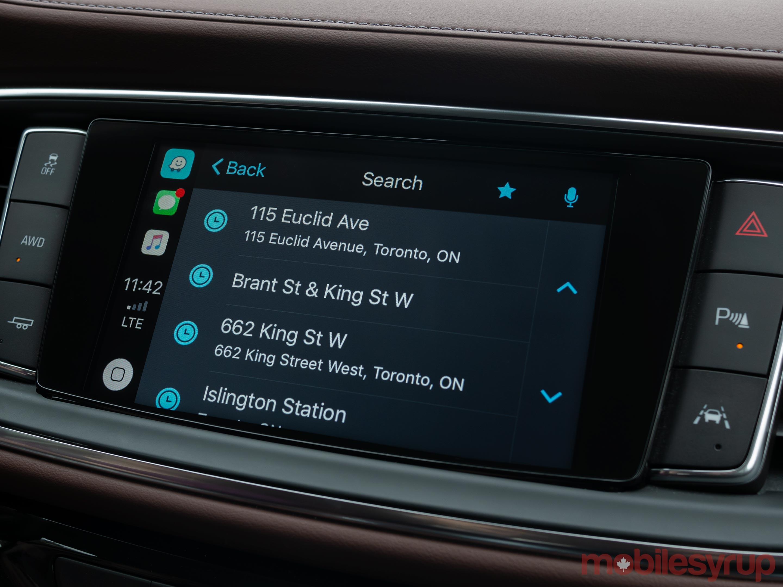 Waze addresses