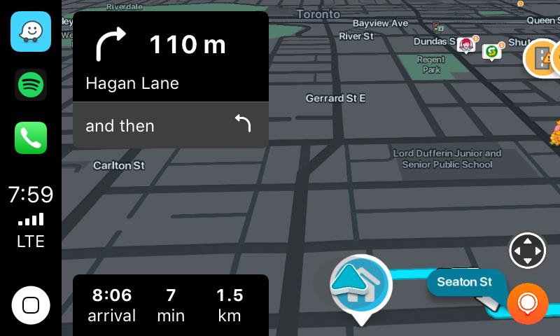 Waze CarPlay