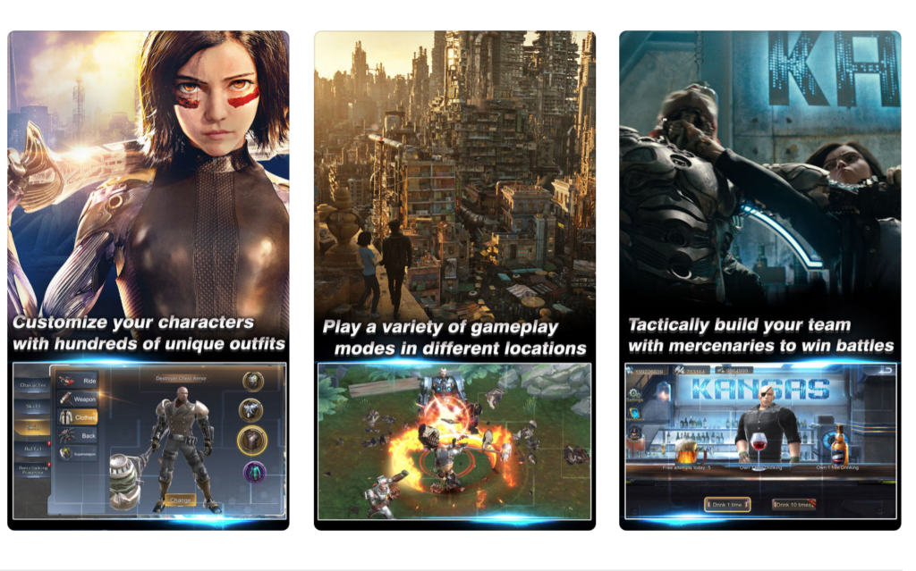 Alita: Battle Angel -- The Game screenshots