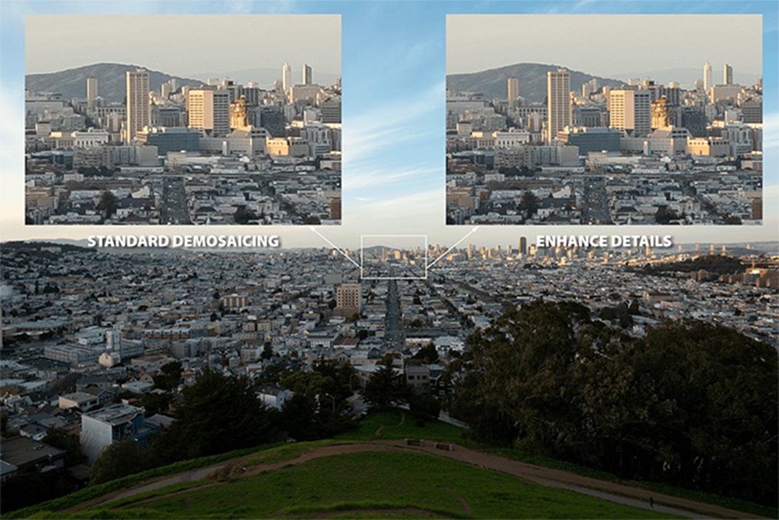 Adobe Enhance Details comparison