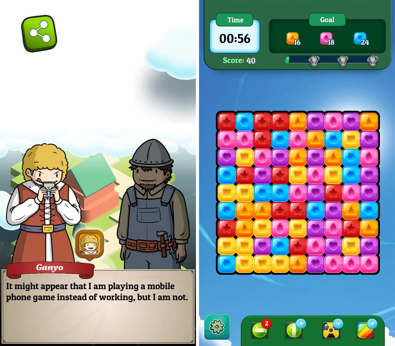 Guildmaster Story mobile game
