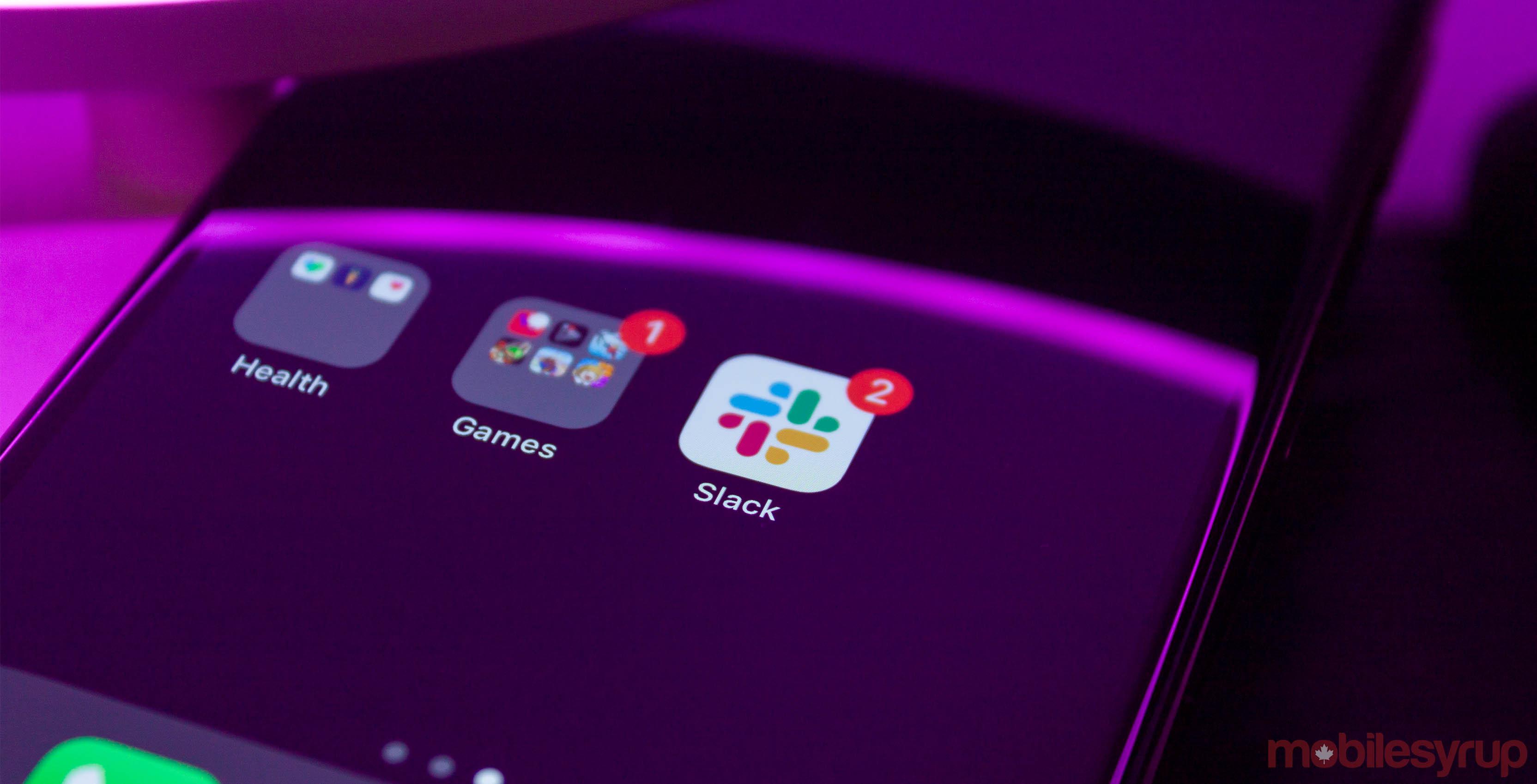 Slack app icon