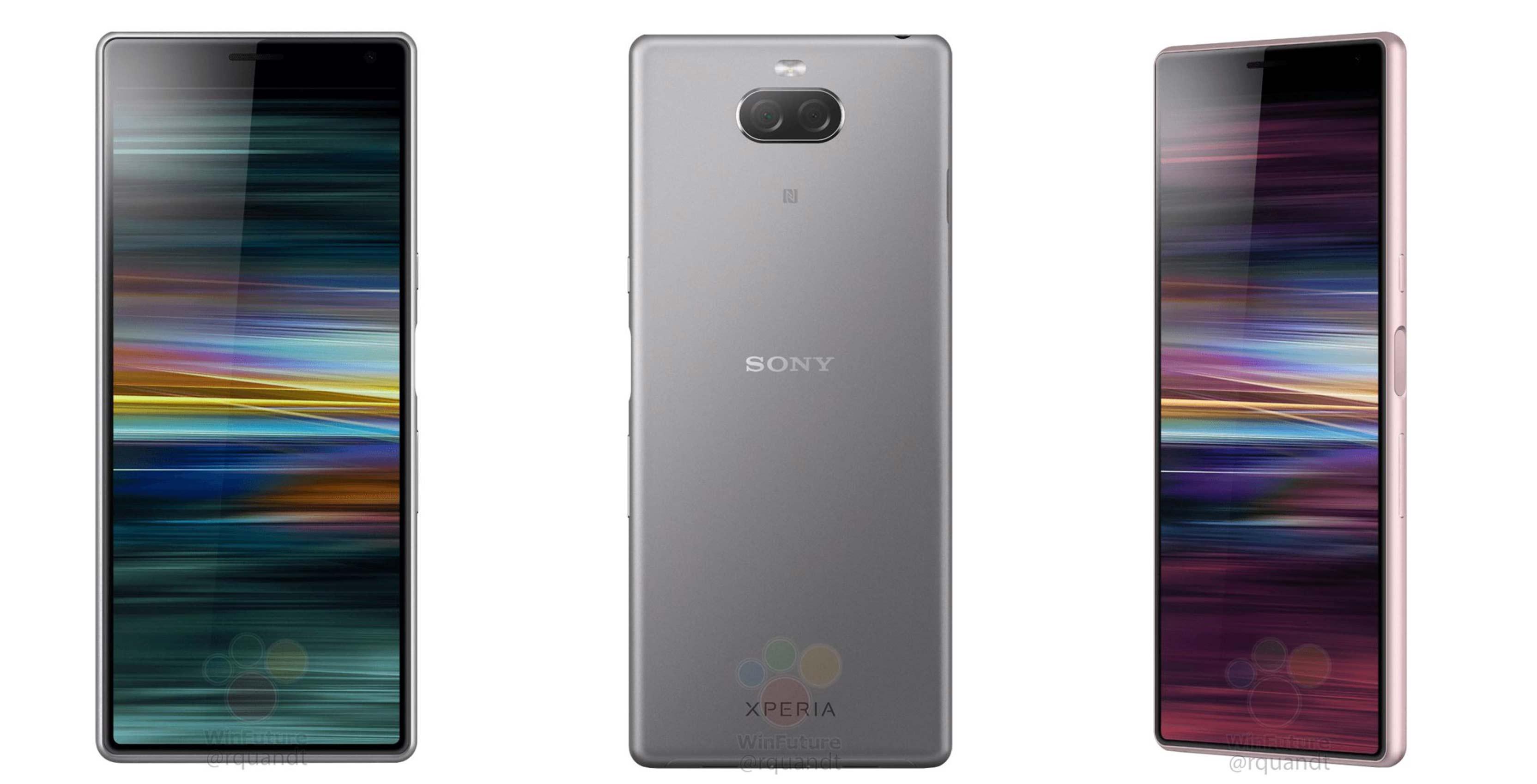 Sony Xperia XA3 spotted