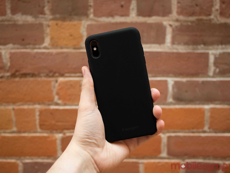 Spigen iPhone XS Max Silicon Fit Case
