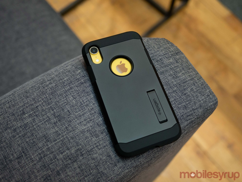 Spigen's Tough Armor XP case for the iPhone XR