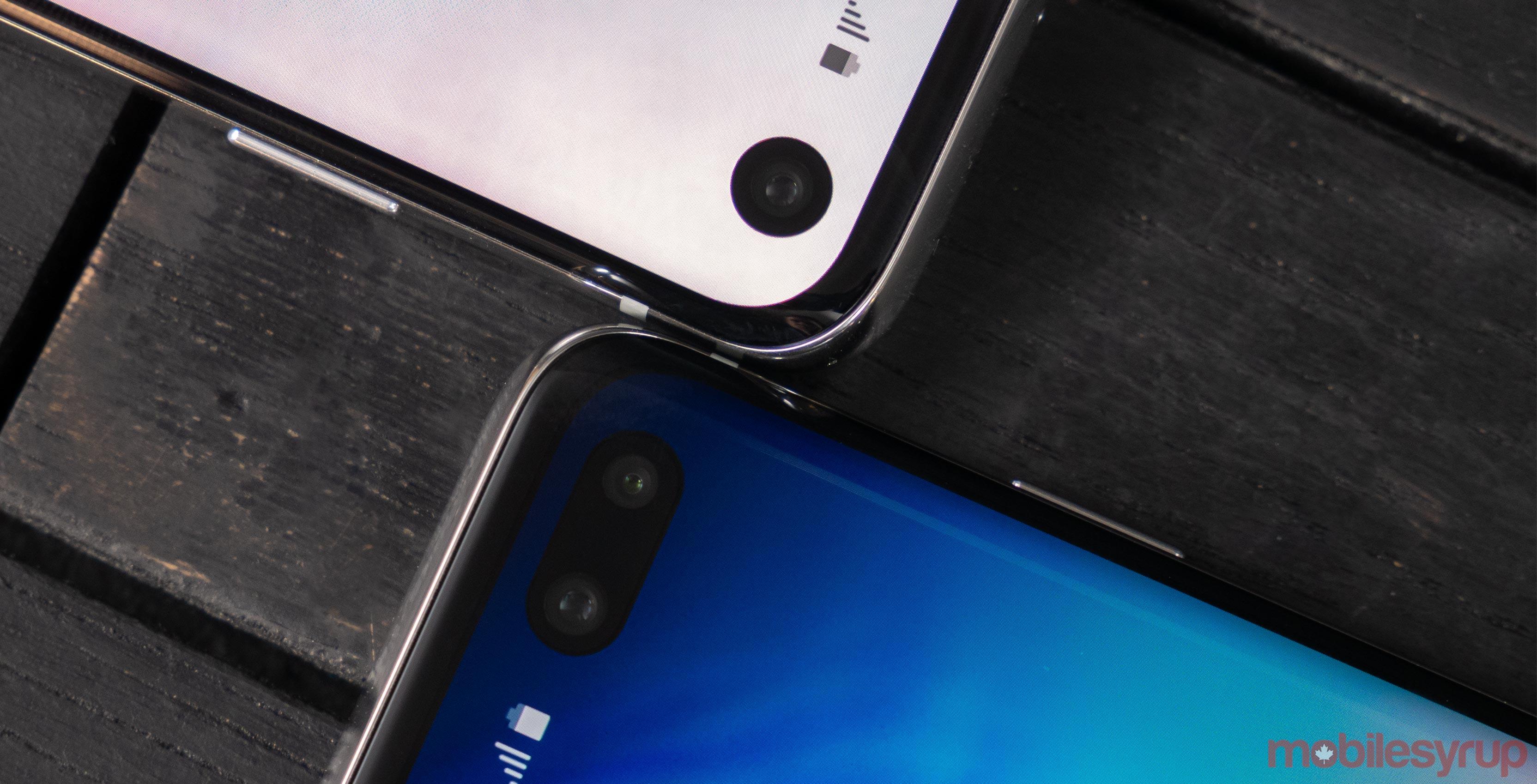 Samsung S10 Infinity-O display