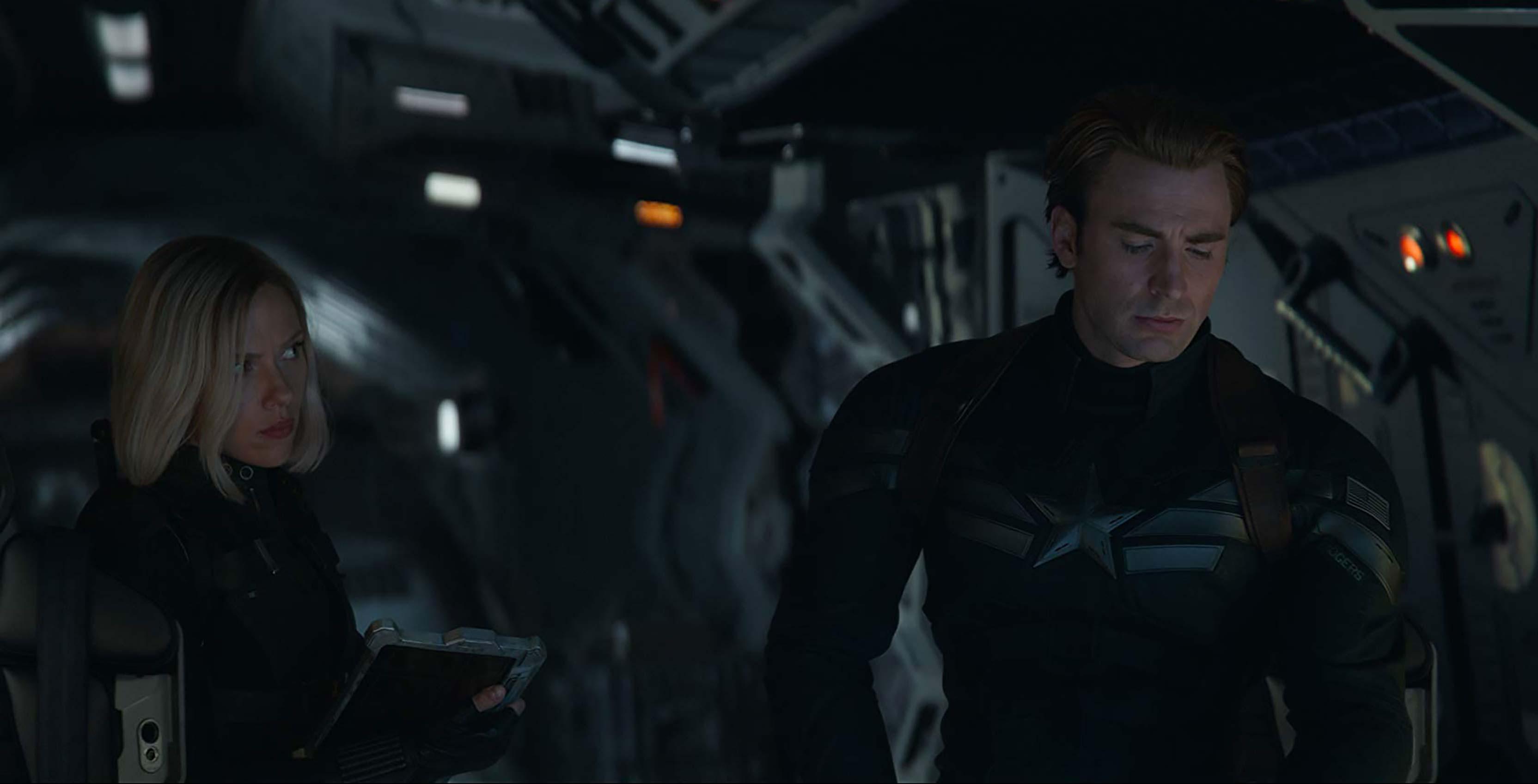 Avengers: Endgame Captain America and Black Widow