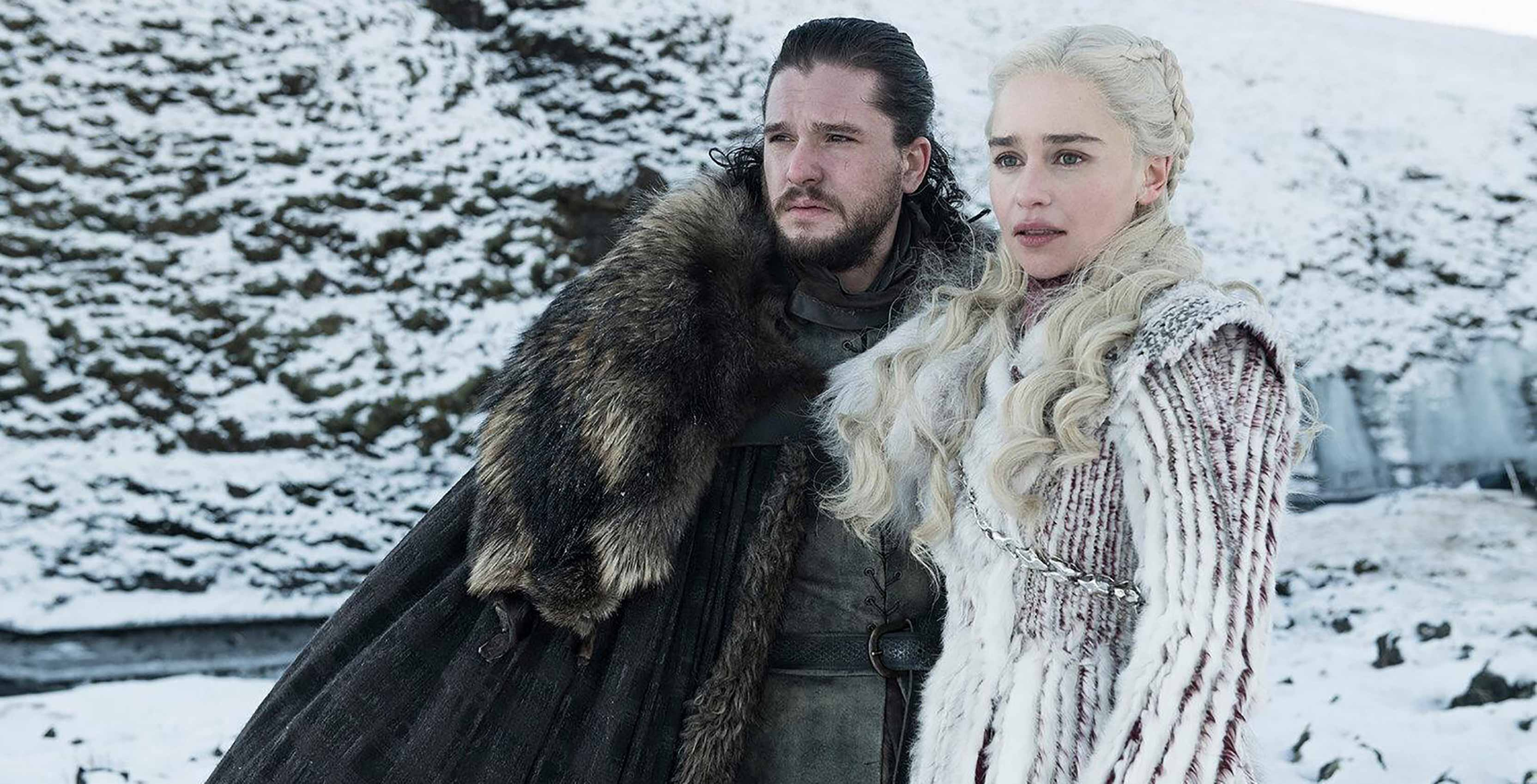 Game of Thrones Jon Snow and Daenerys Targaryen
