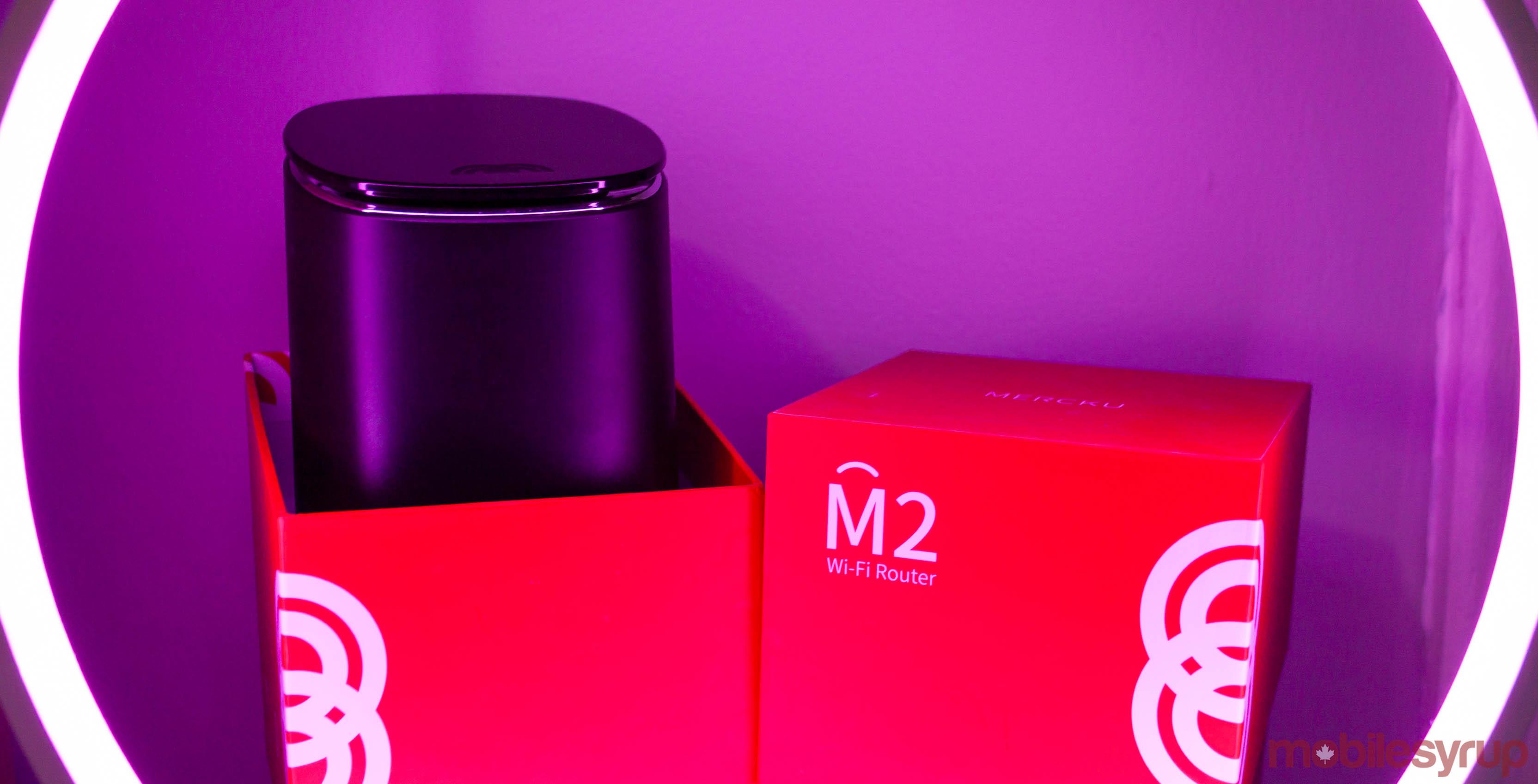 Mercku M2 Wi-Fi router