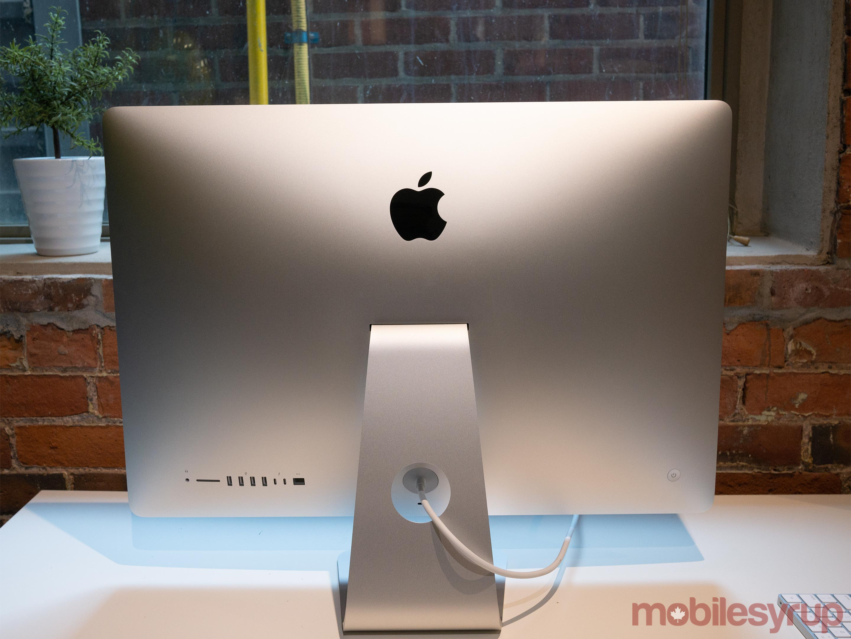27-inch iMac back