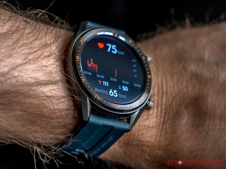 Huawei Watch GT heart rate