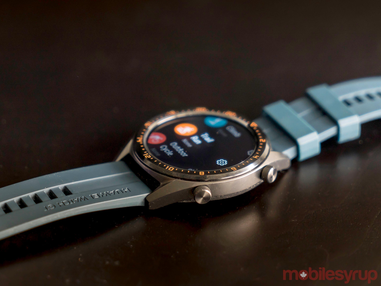 Huawei Watch GT side view
