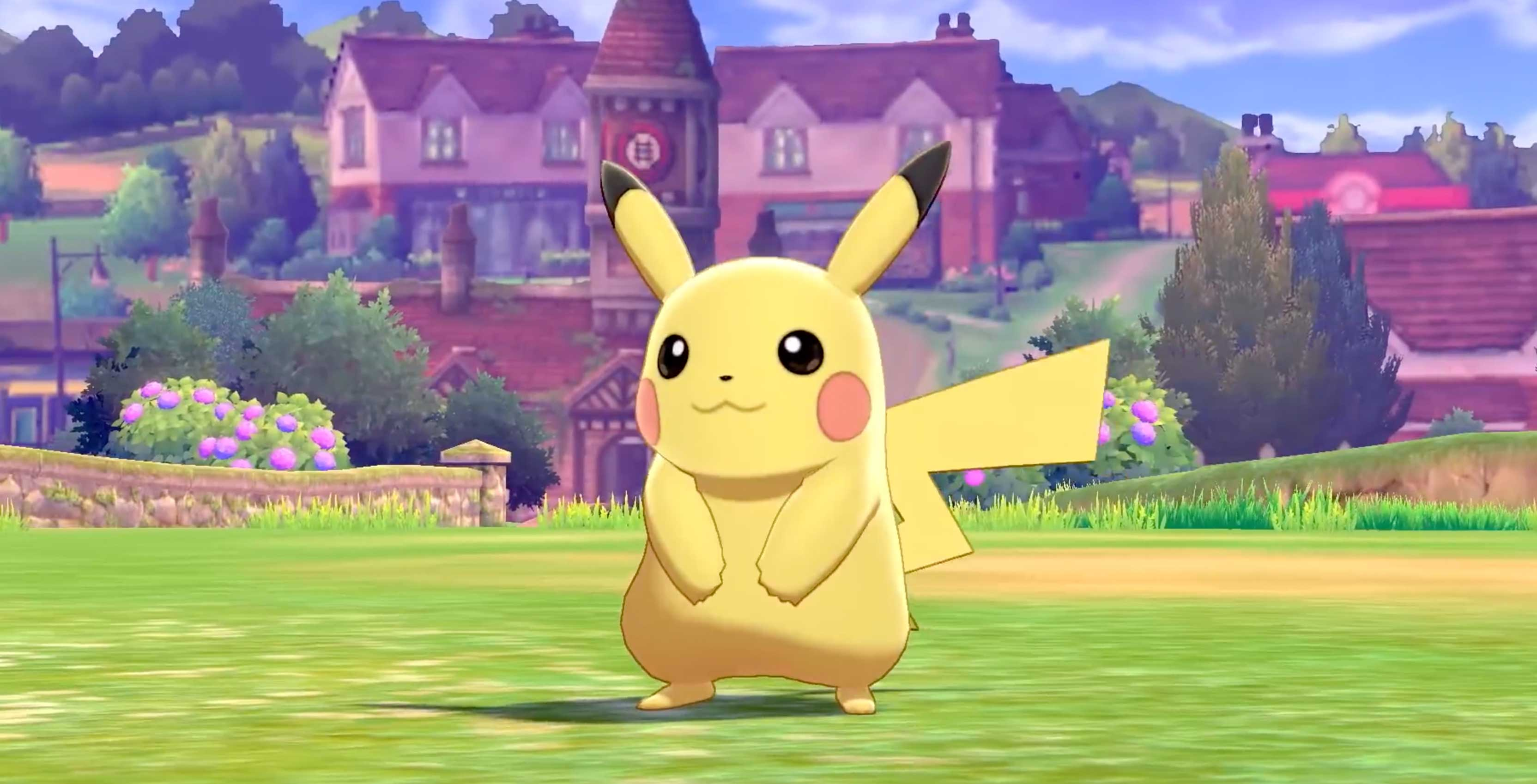 Pokemon Sword And Shield Trailer Reveals New Gigantamaxing Mechanic