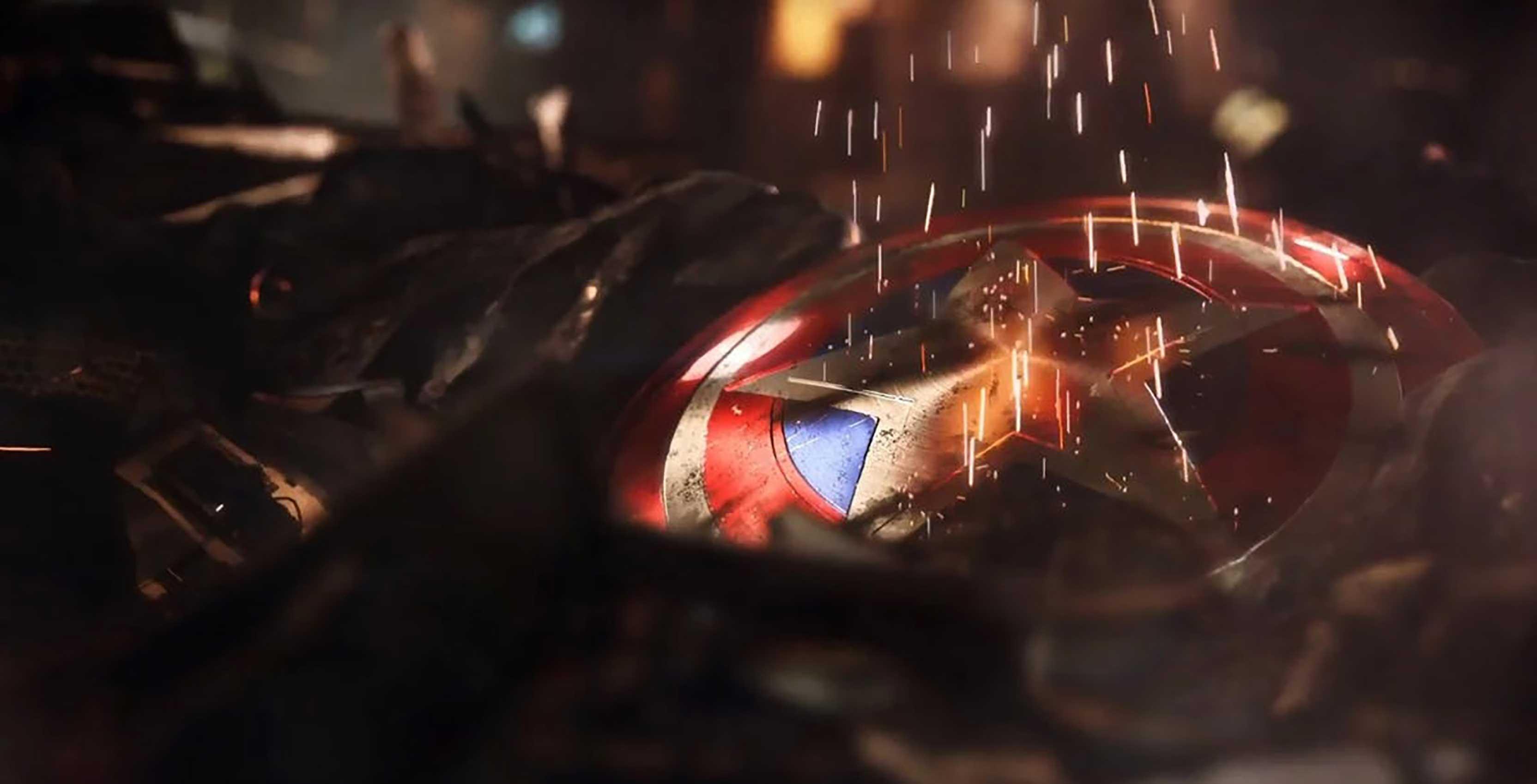 Avengers Project Captain America shield