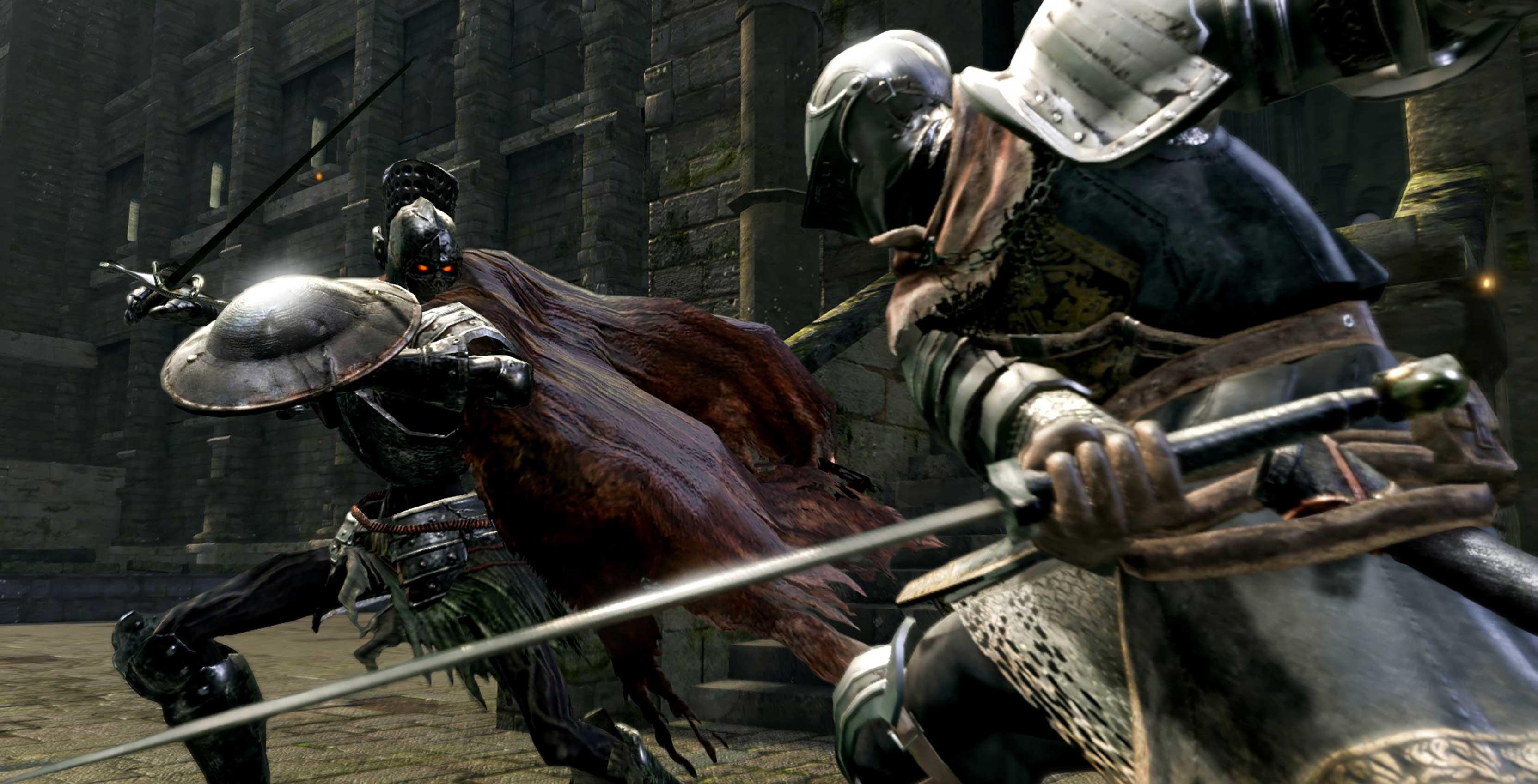 Dark Souls Remastered combat