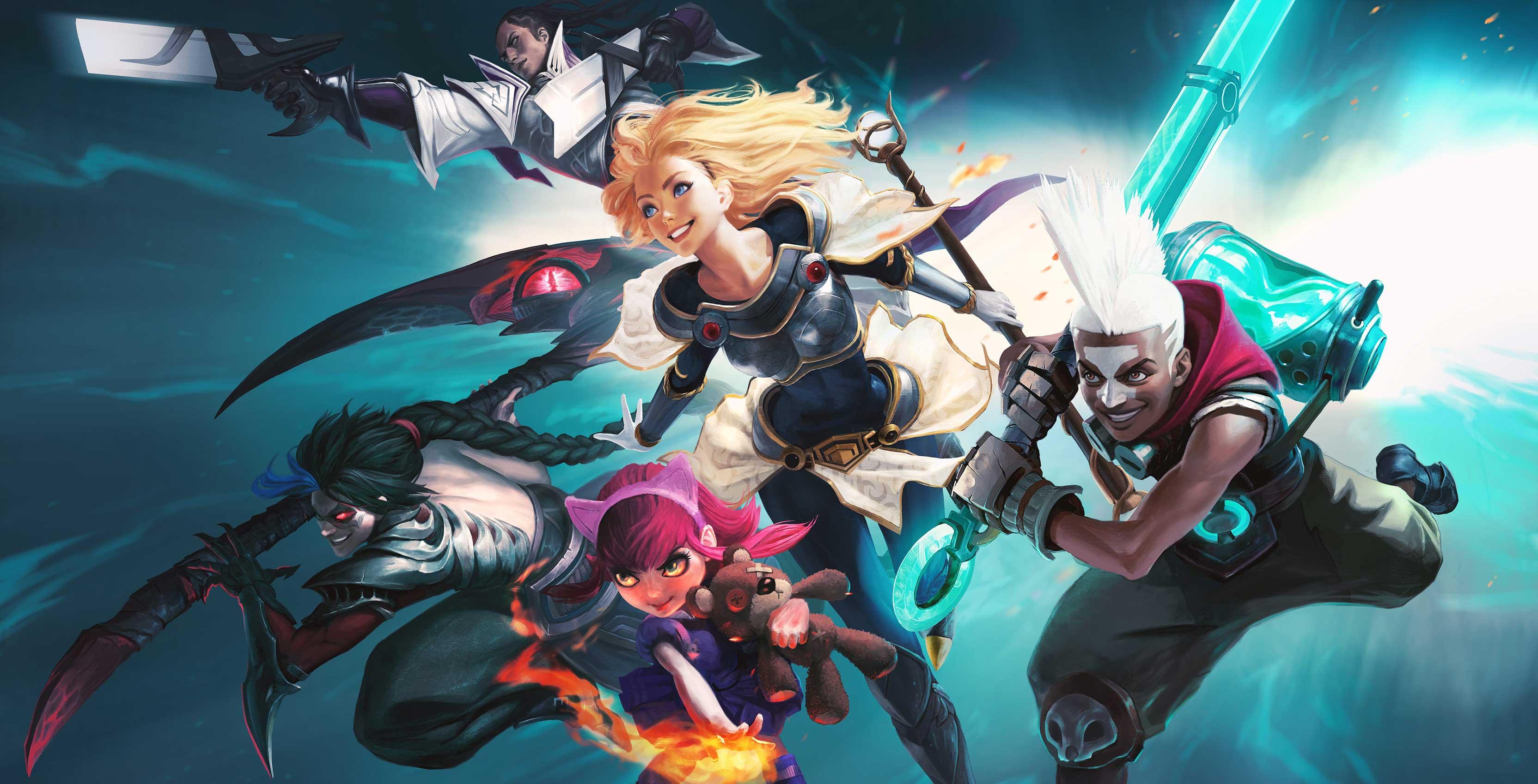 League of Legends character art