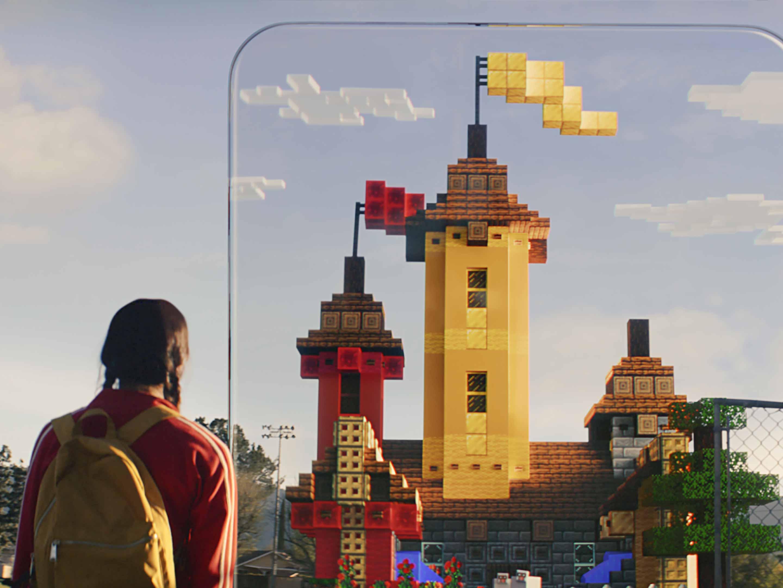 Minecraft Earth castle