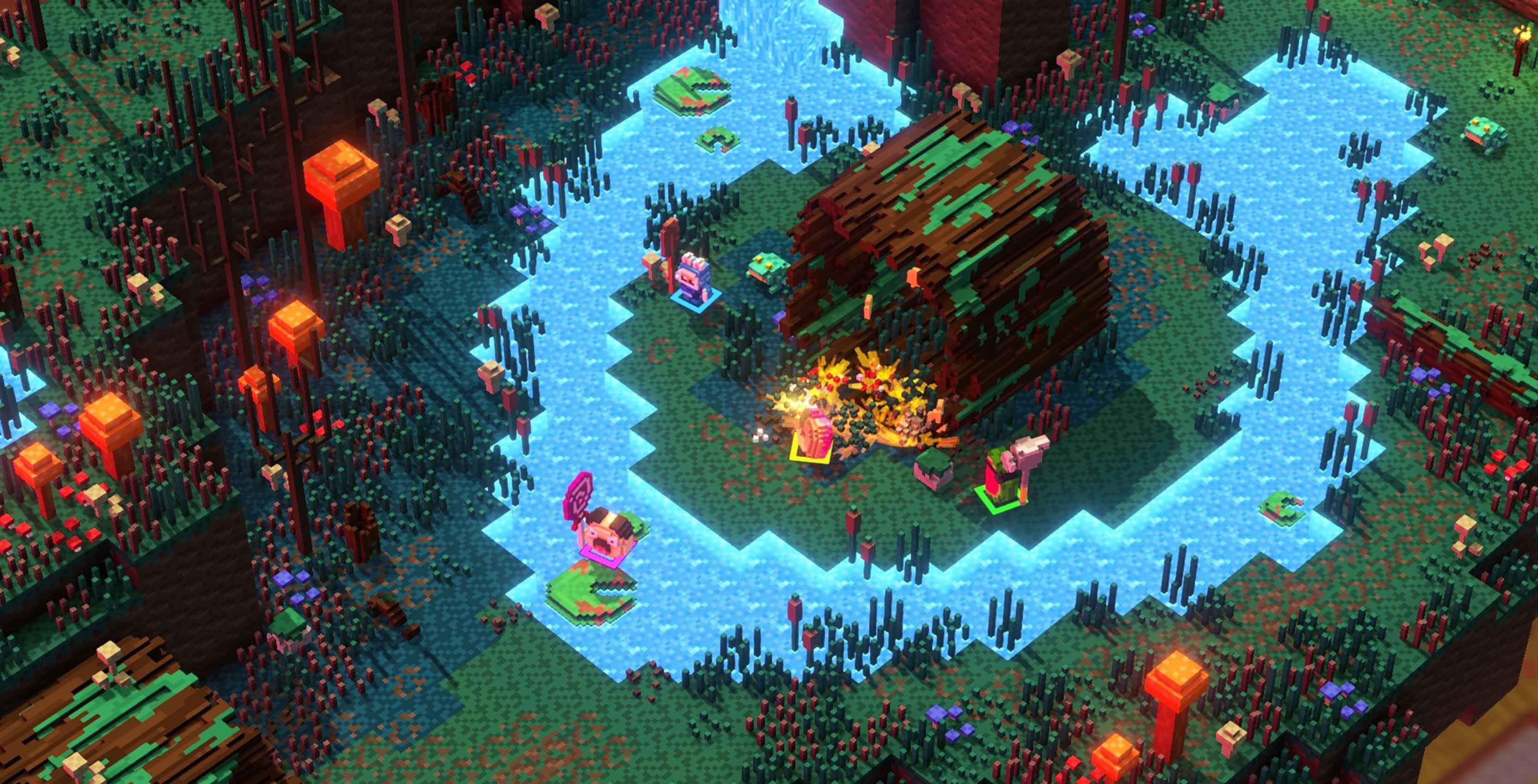 Riverbond gameplay