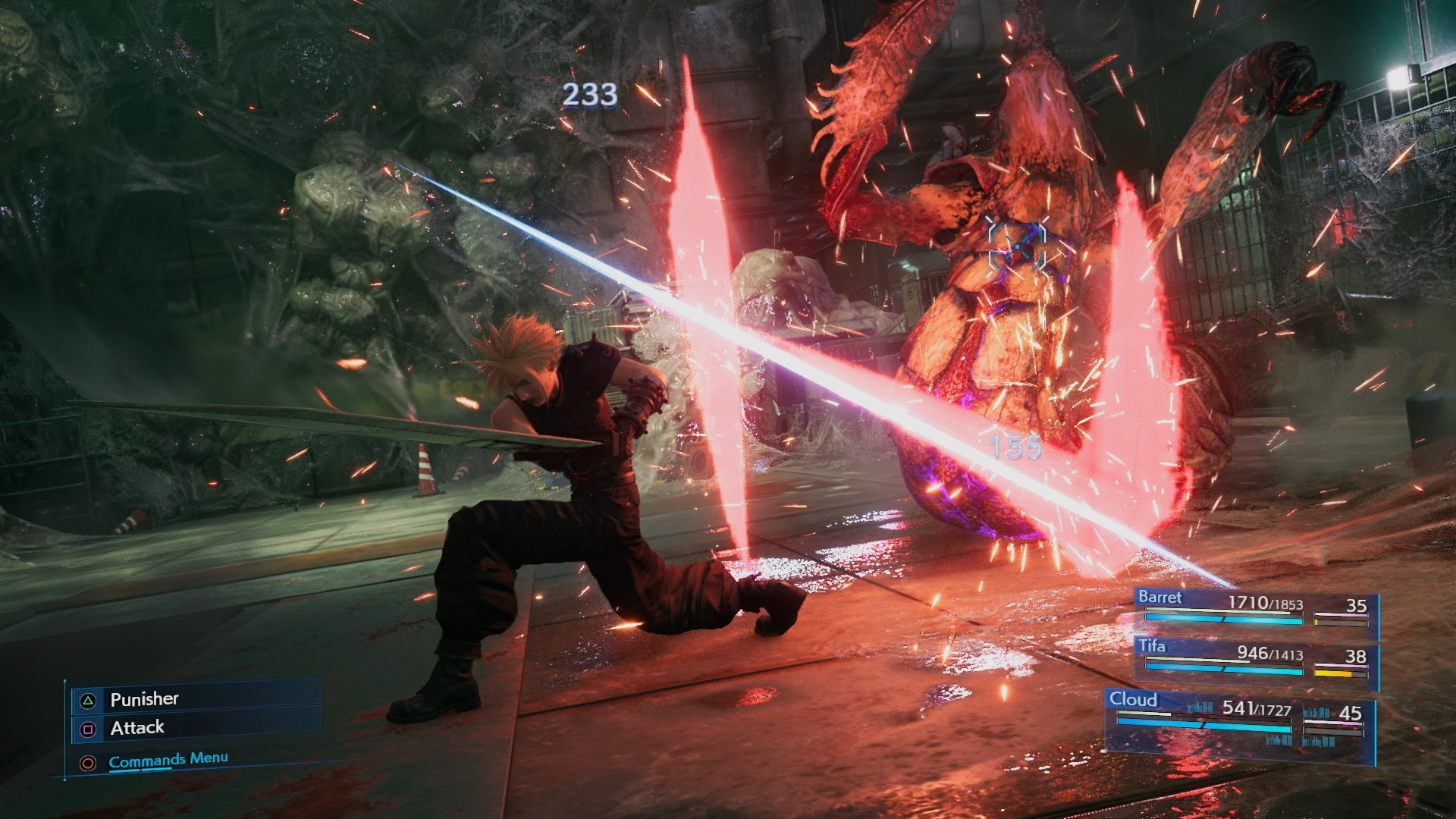 Final Fantasy VII Remake Cross-Slash