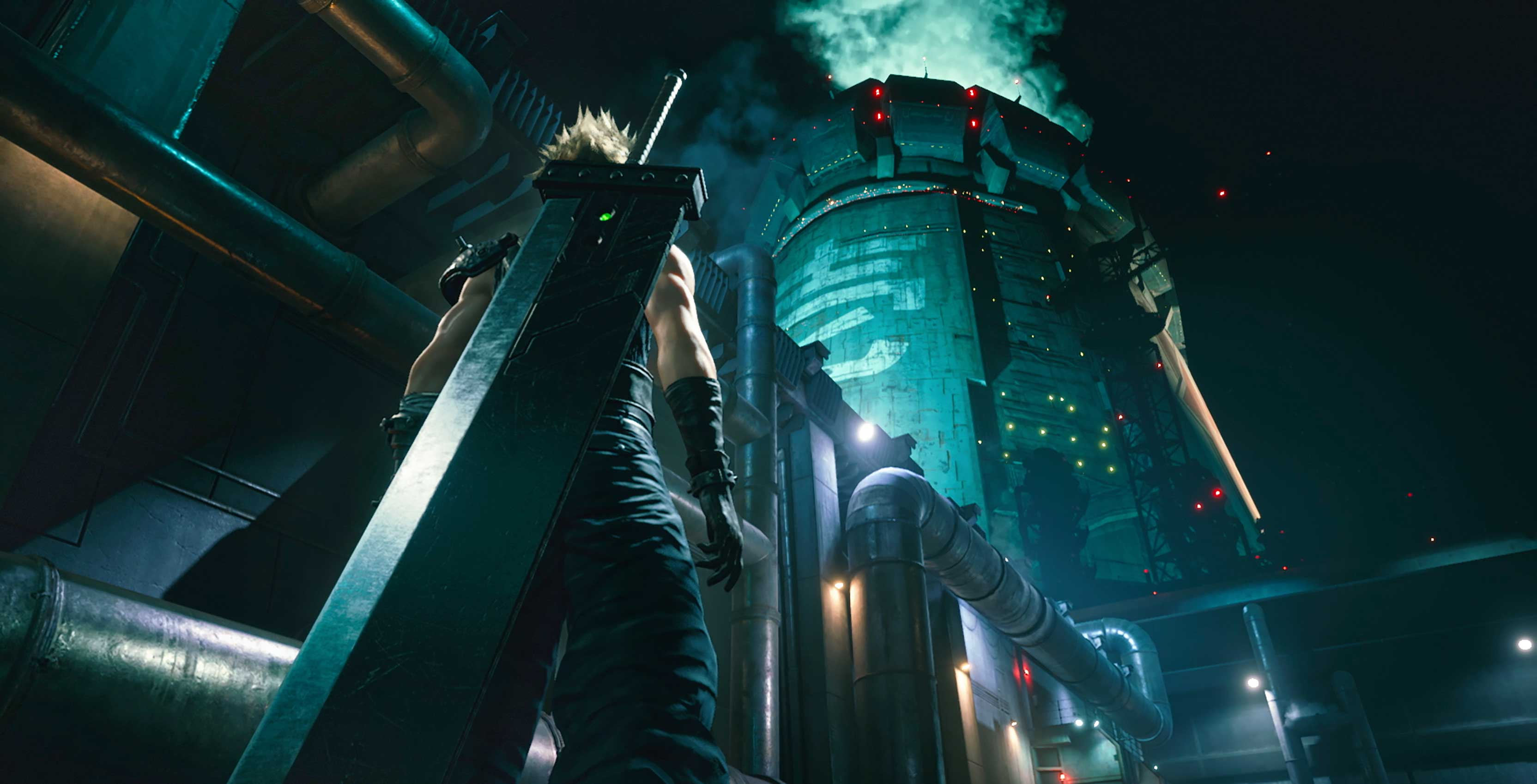 Final Fantasy VII Remake Shinra building