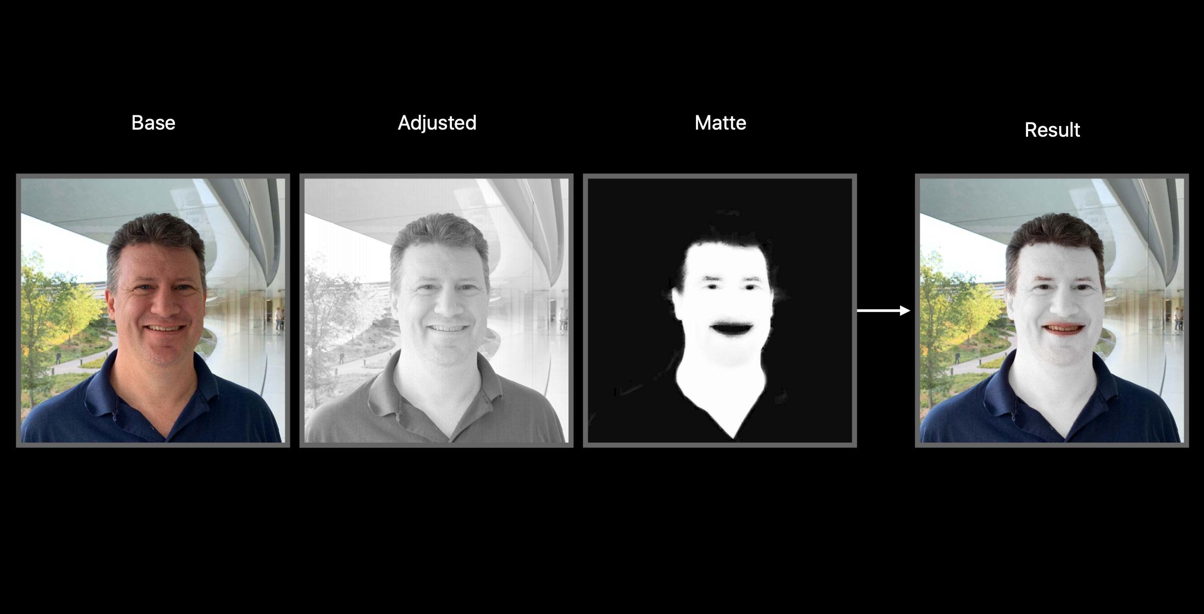iOS 13 Semantic Segmentation Mattes