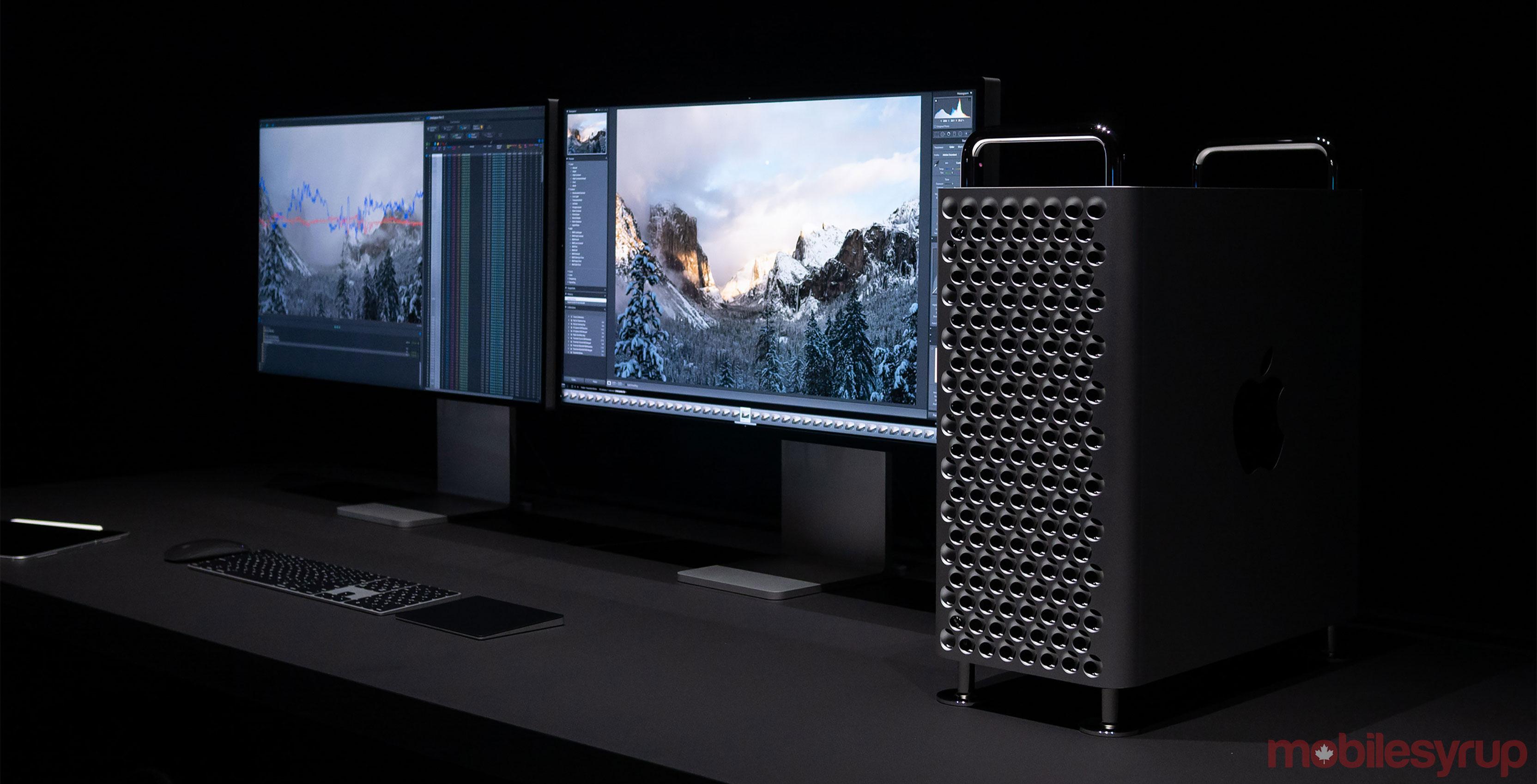Pro Display XDR and Mac Pro