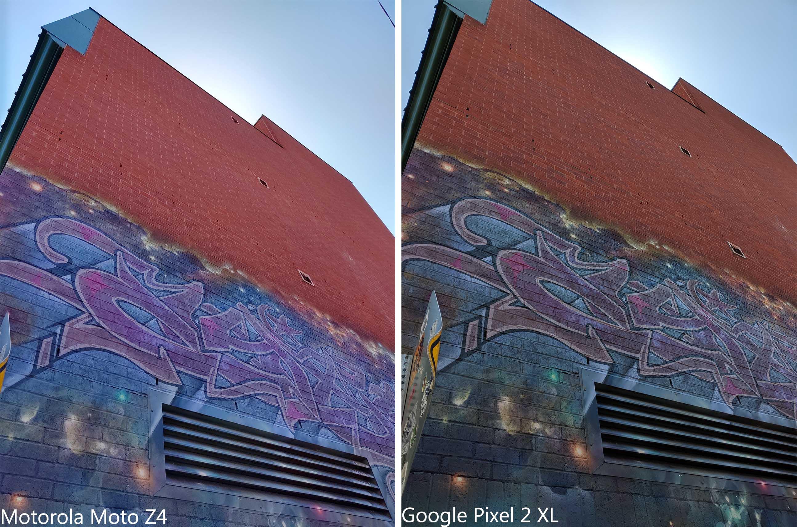 Moto Z4 vs. Google Pixel 2 XL