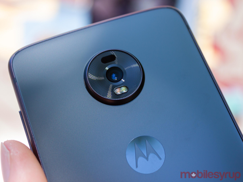 Moto Z4 camera