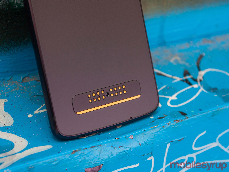 Moto Z4 mod connector