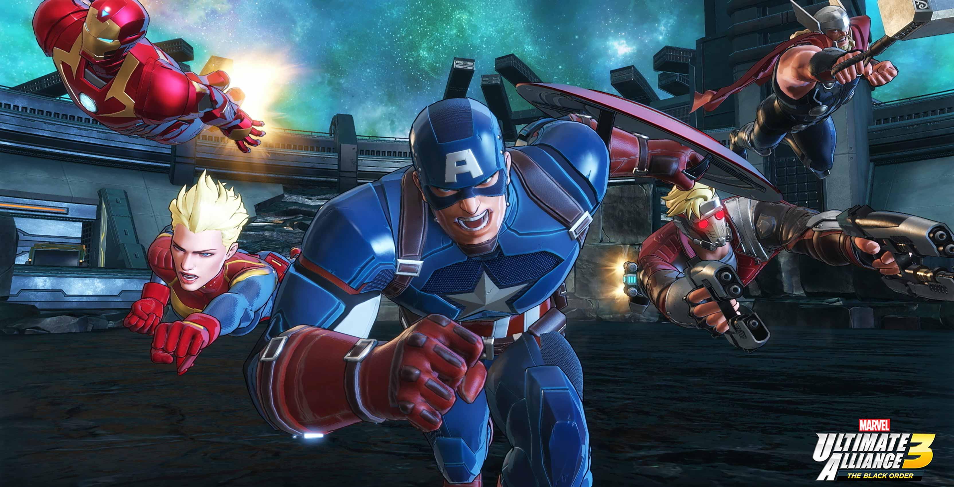 Marvel Ultimate Alliance The Avengers
