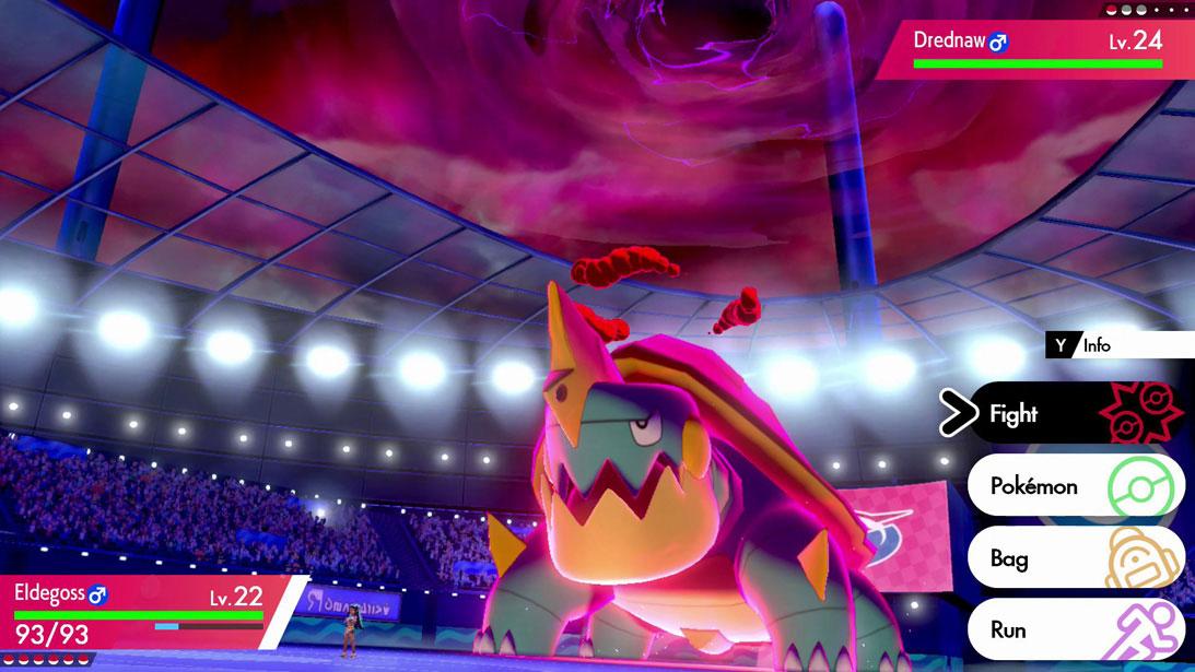 Drednaw Pokémon Sword and Shield