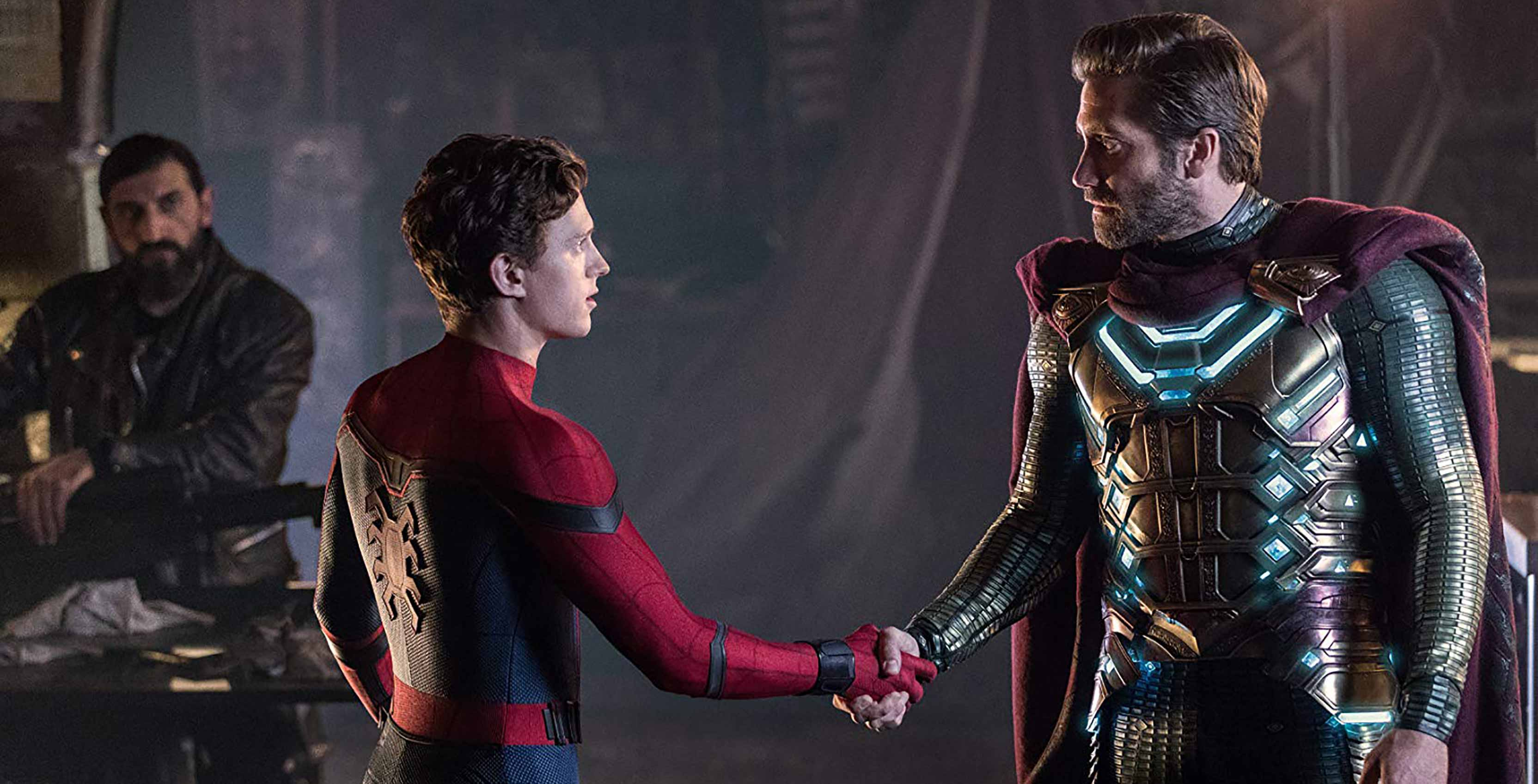 Spider-Man: Far From Home Spidey and Mysterio
