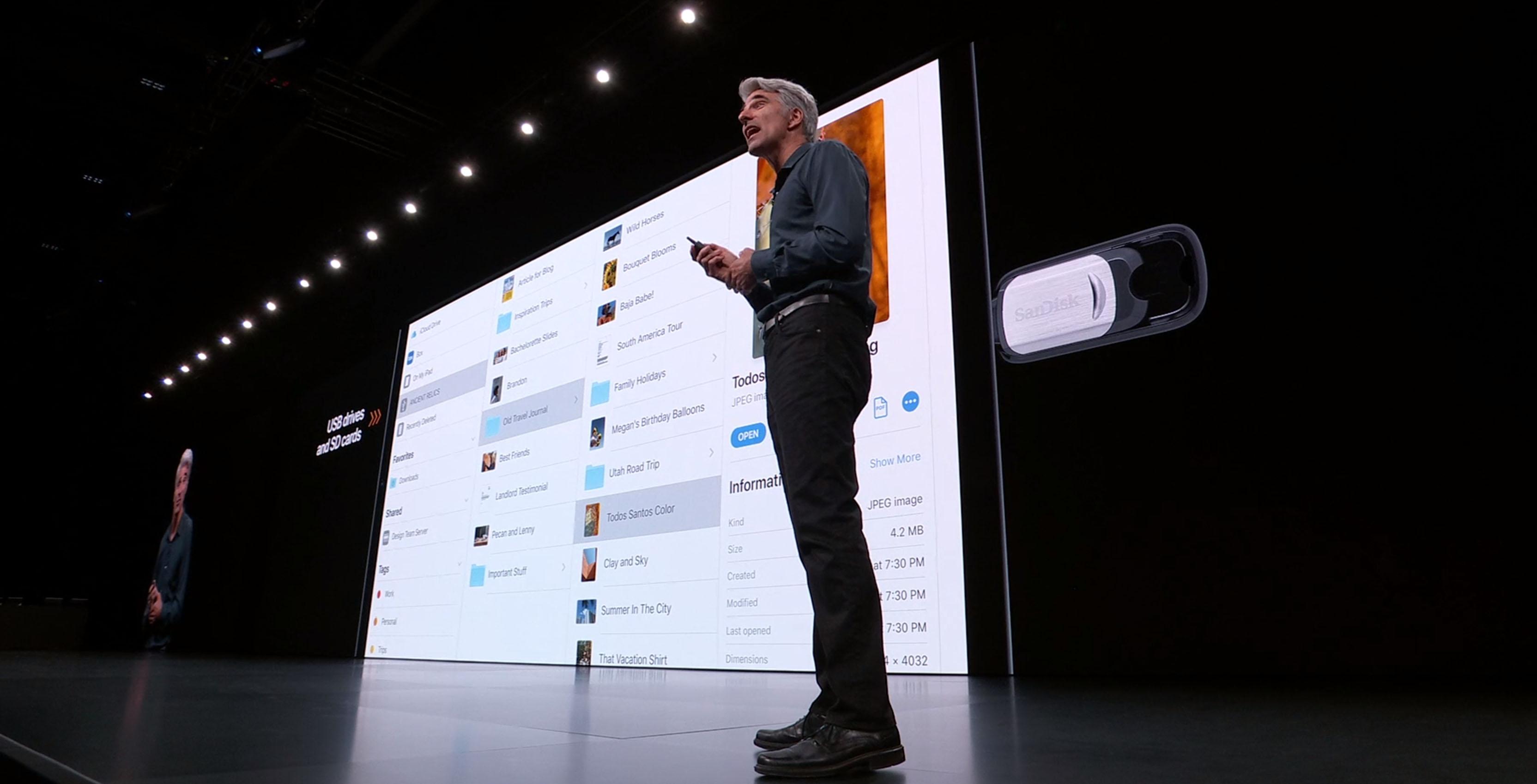 iPad USB support