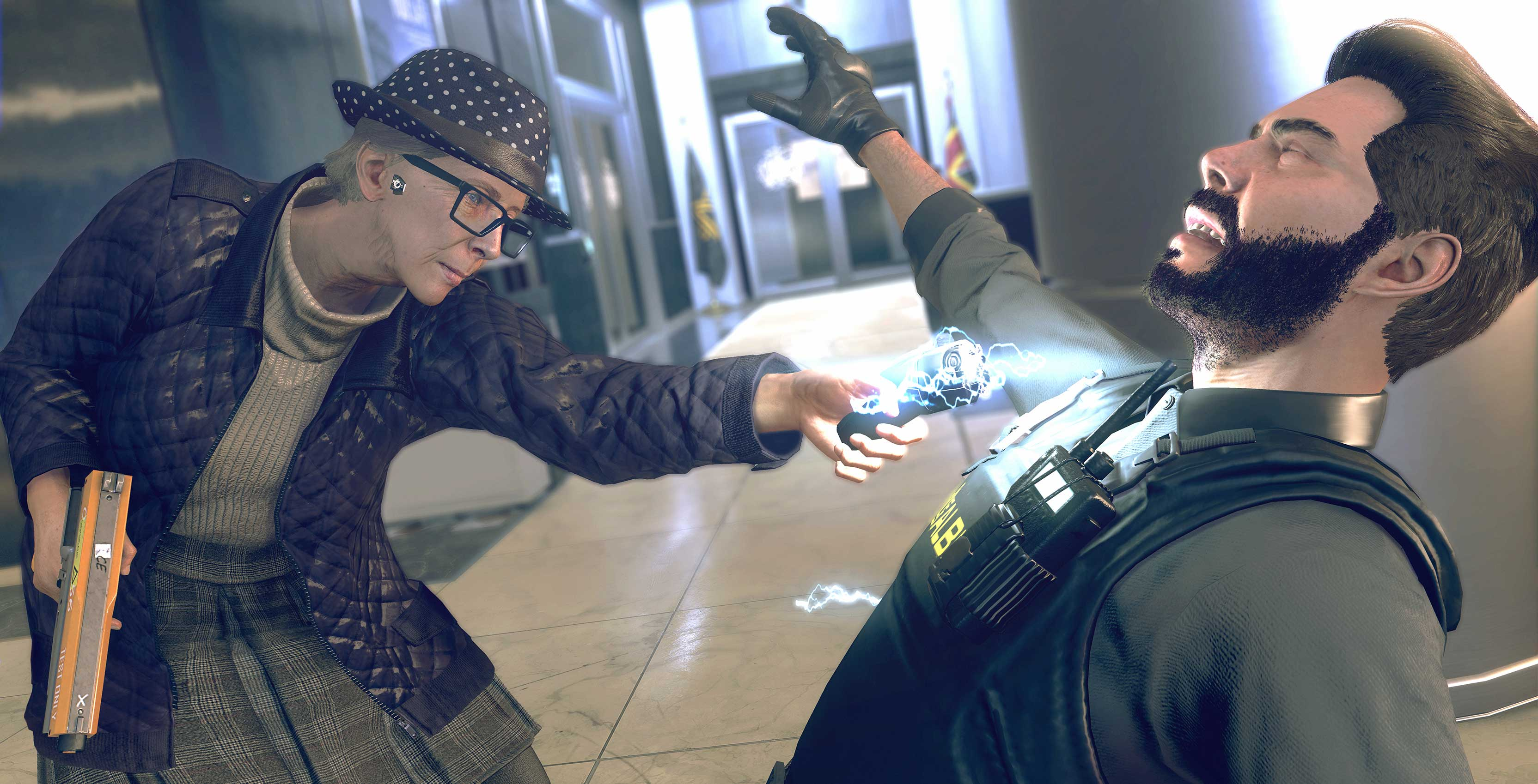 Watch Dogs: Legion grandma