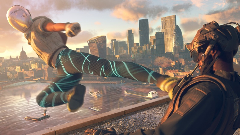 Watch Dogs: Legion karate kick