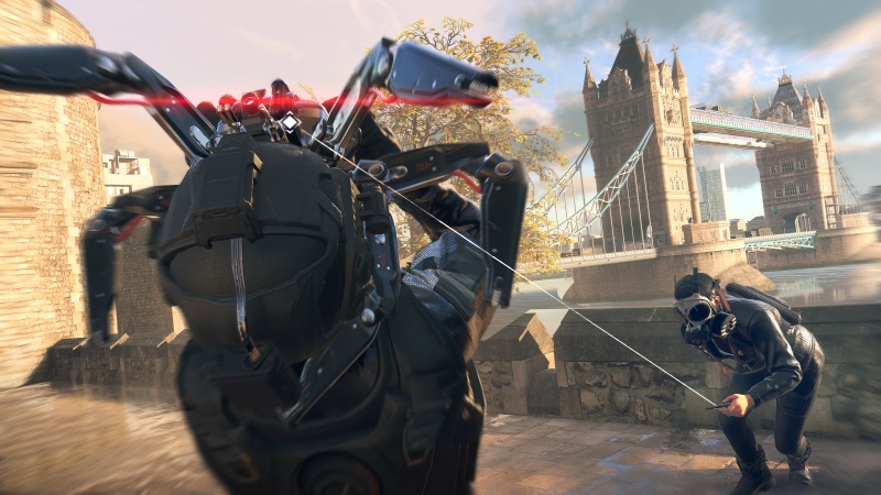 Watch Dogs: Legion spider bot