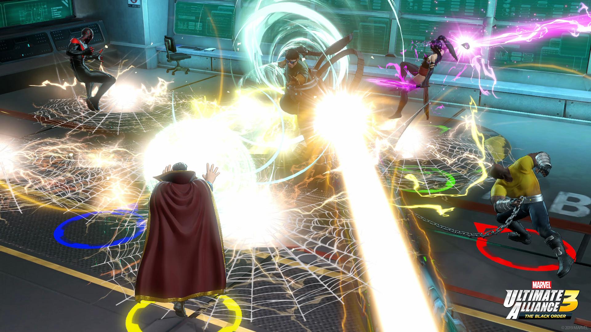 Marvel Ultimate Alliance 3 powers