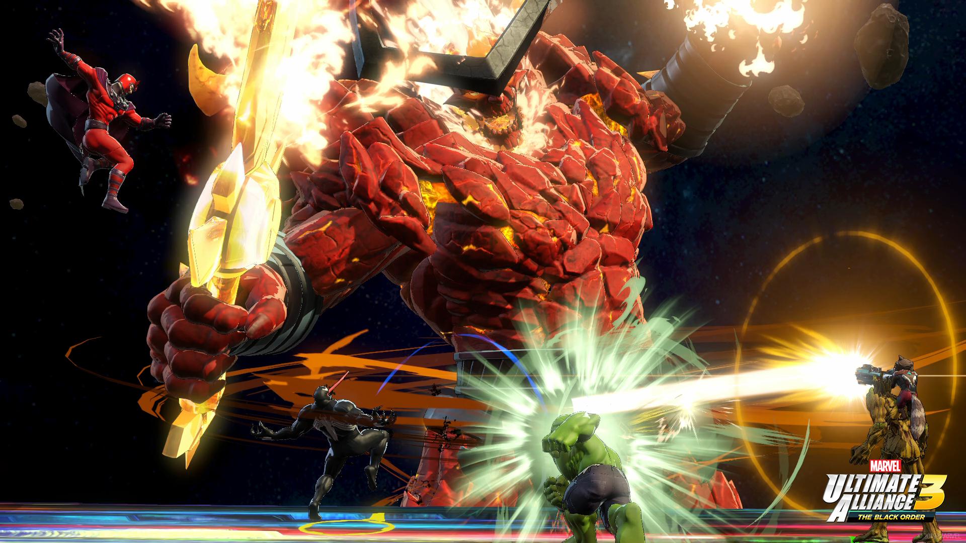 Marvel Ultimate Alliance 3 Surtur