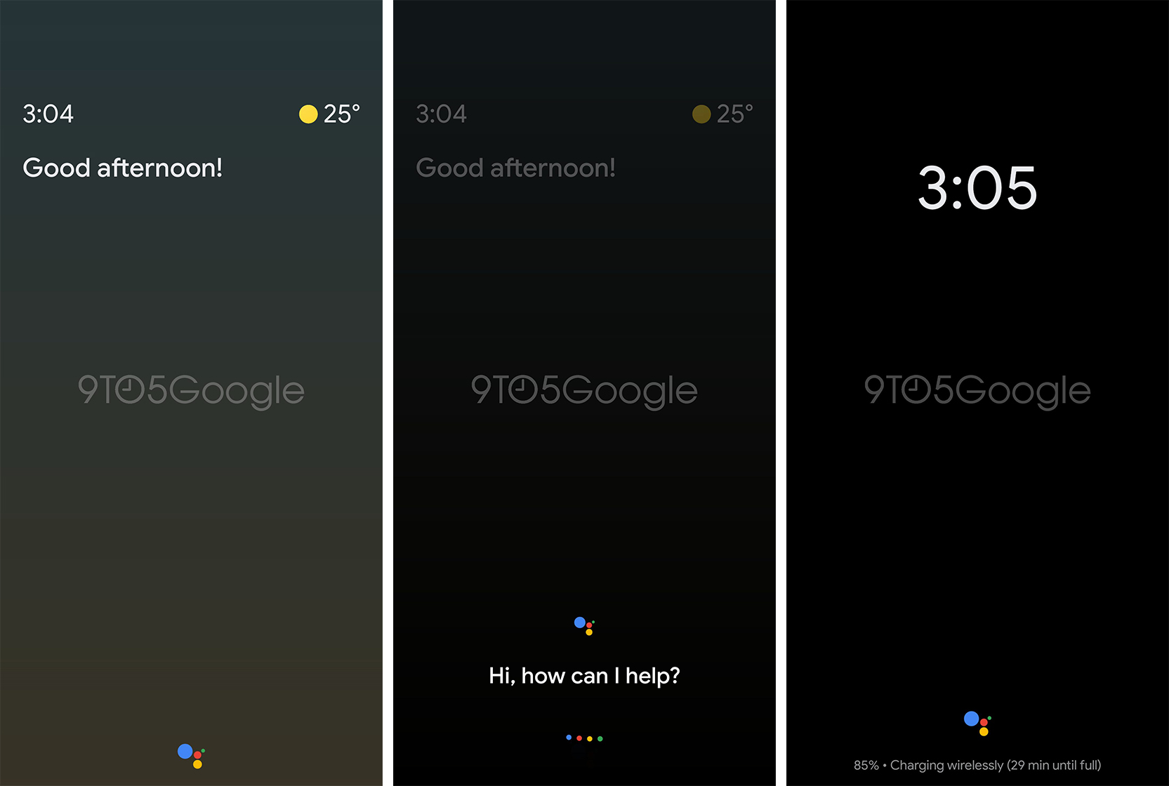 Assistant Ambient Mode