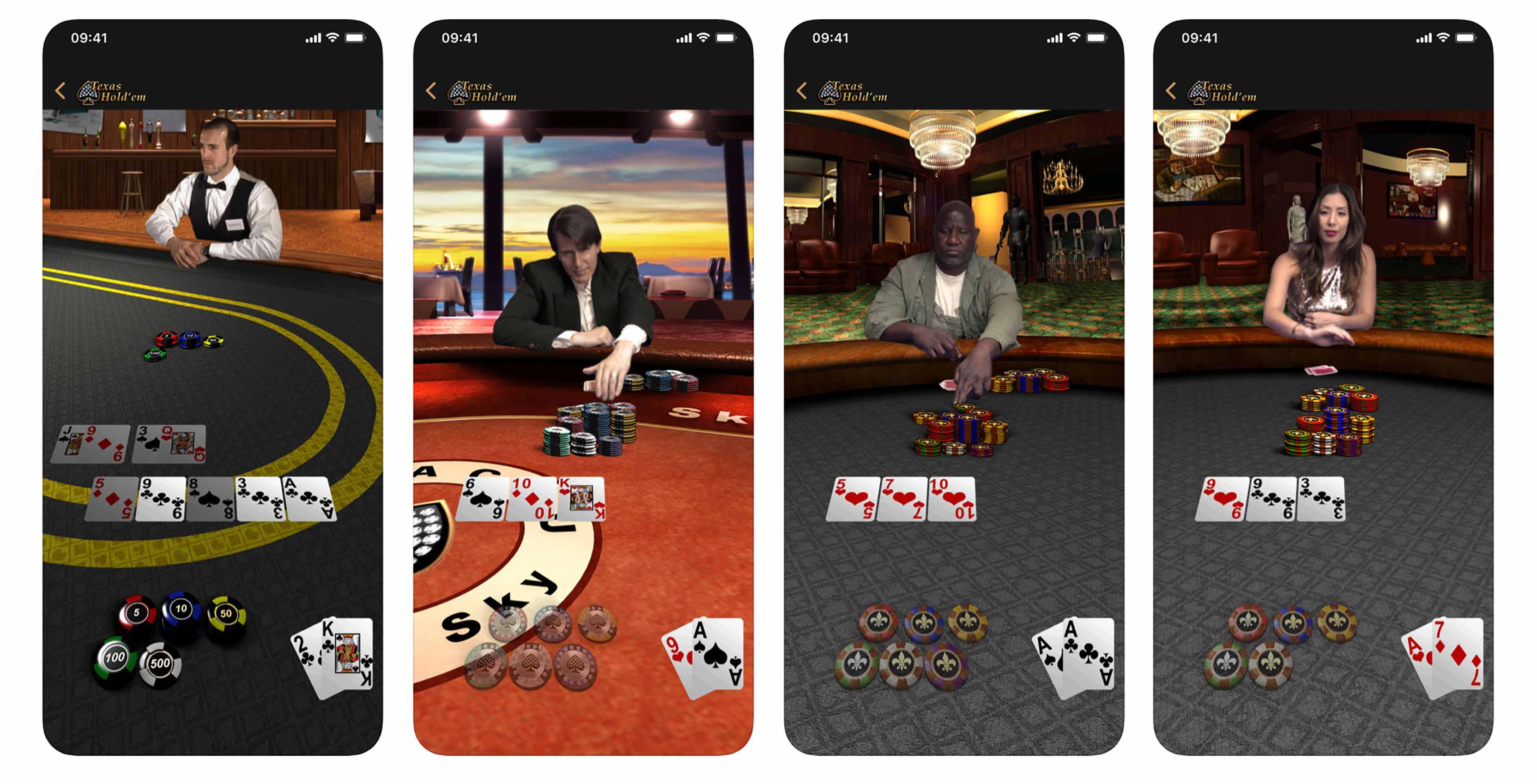Apple Texas Hold'em