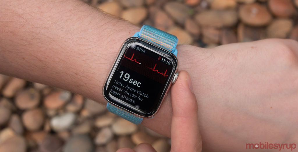 Apple Watch Series 4 ECG app now available in Canada