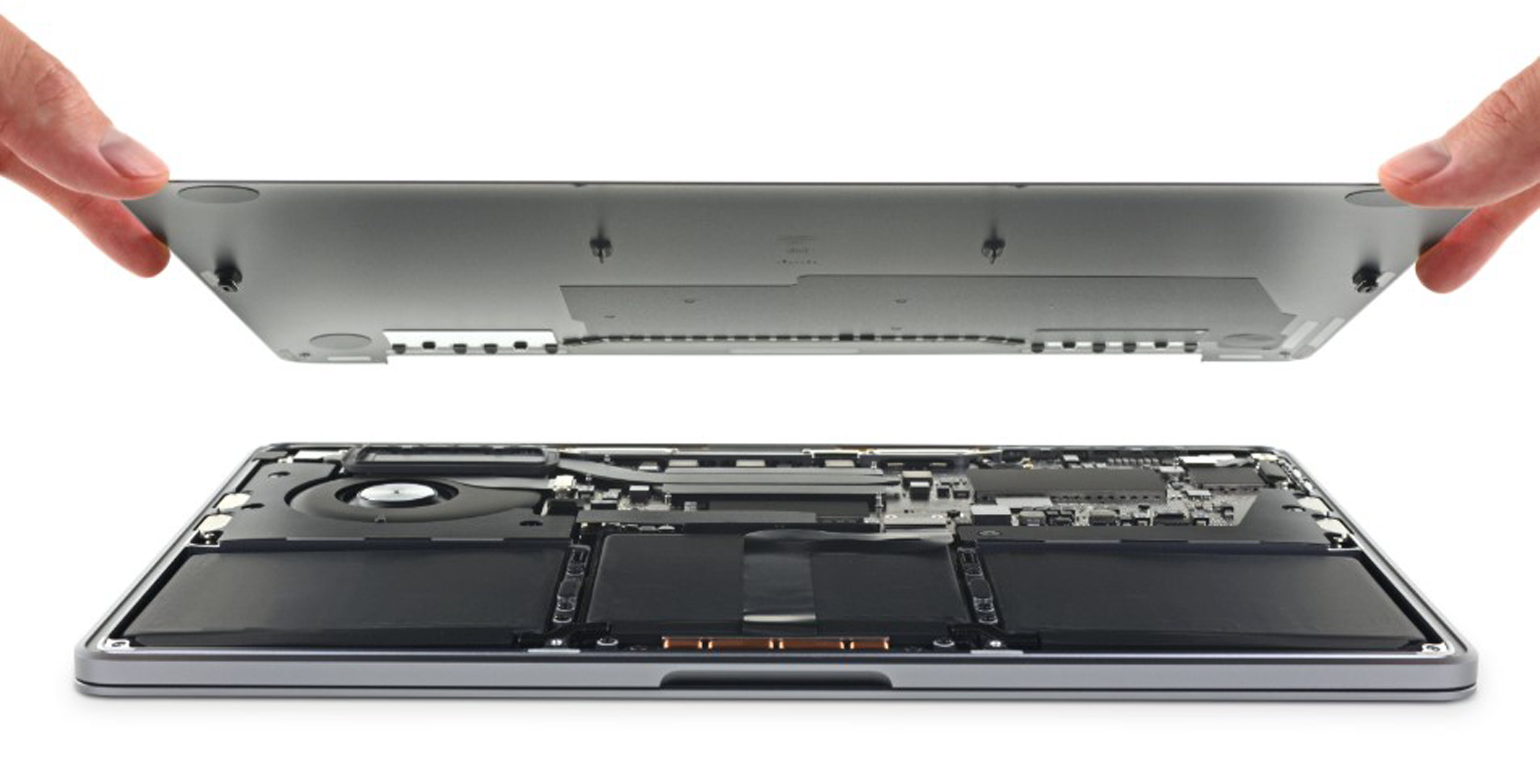 iFixit tore down the new base model MacBook Pro