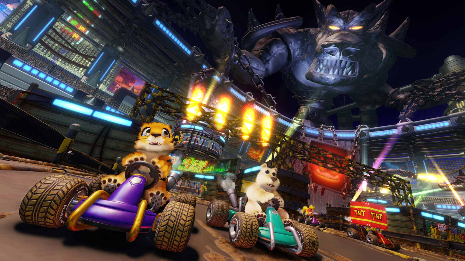 Crash Team Racing Nitro-Fueled arena