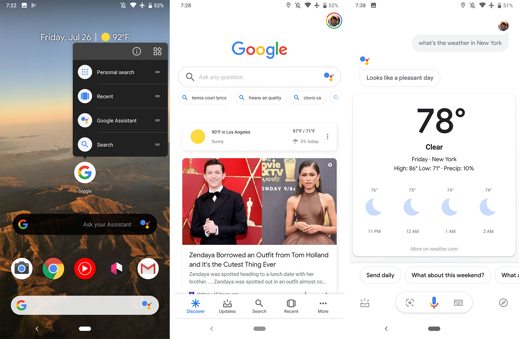 Google app with Assistant