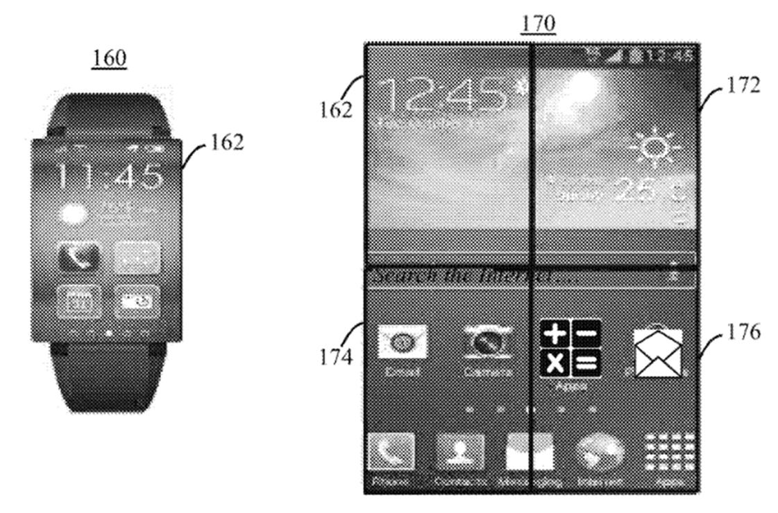 IBM watch patent