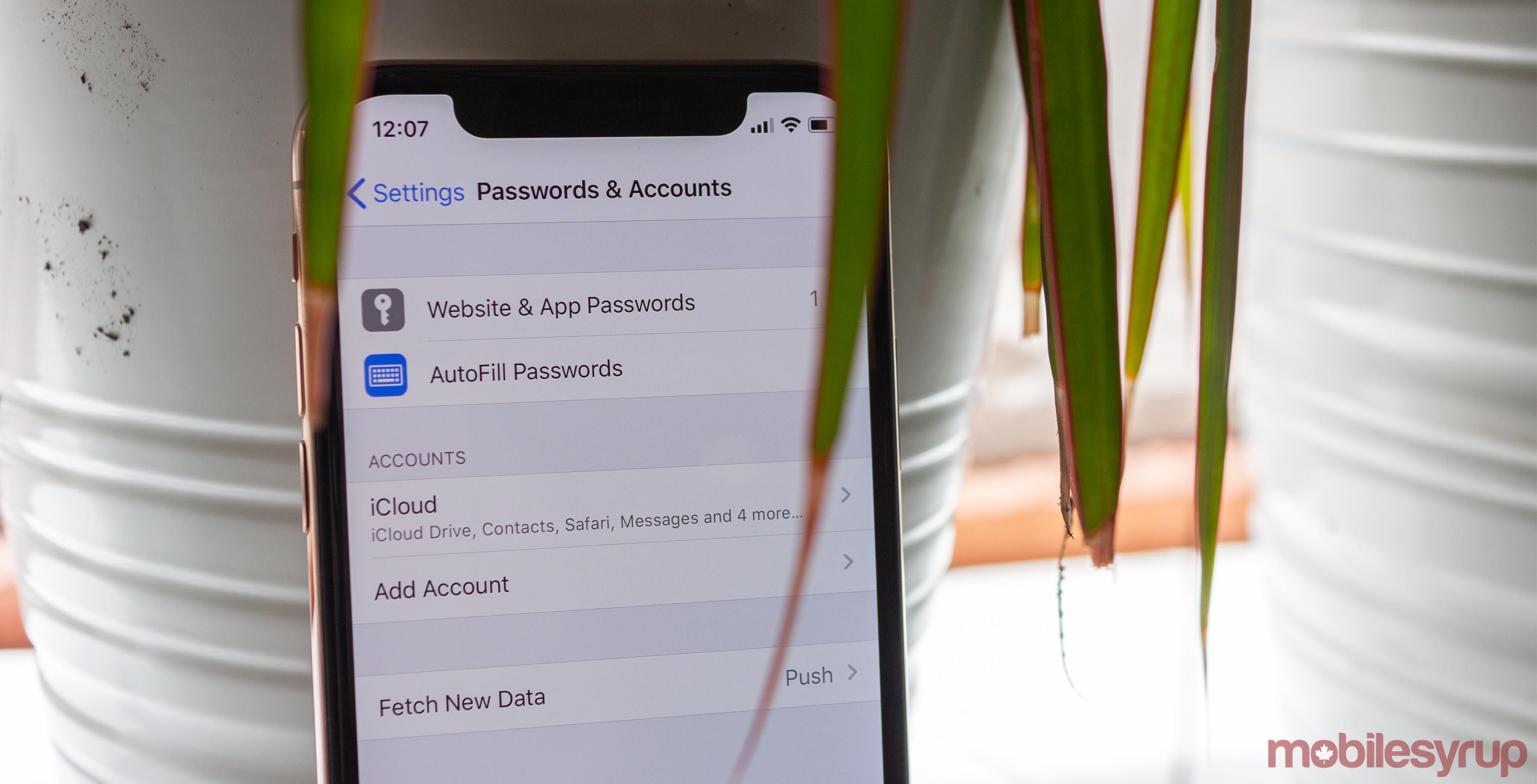 iOS 13 security bug